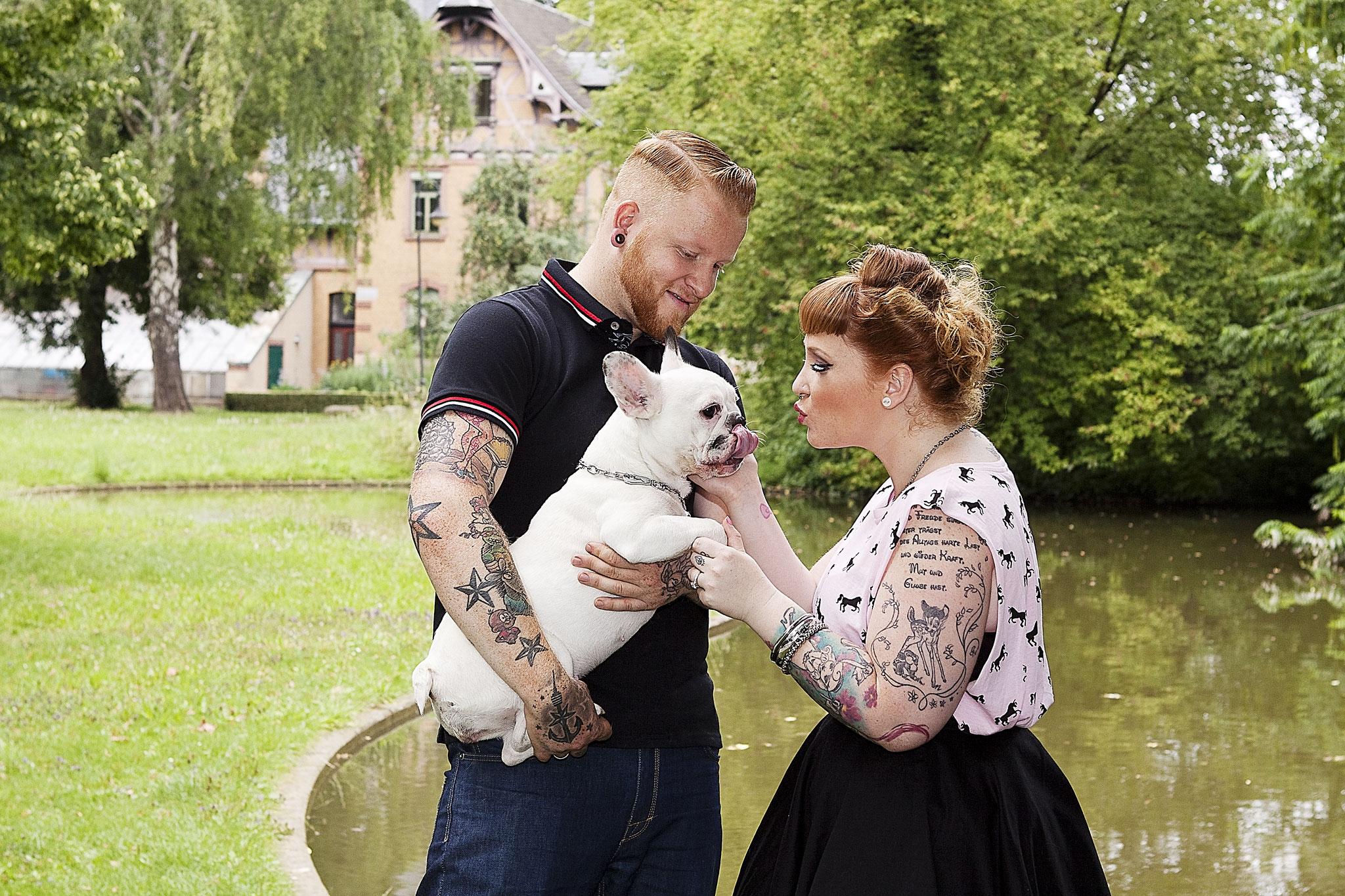 """Kalenderfotos für das Spendenprojekt """"bunter Hund"""""""