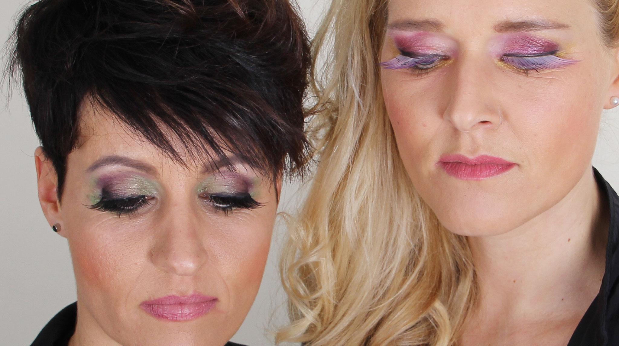 Nachher Abend Make-up