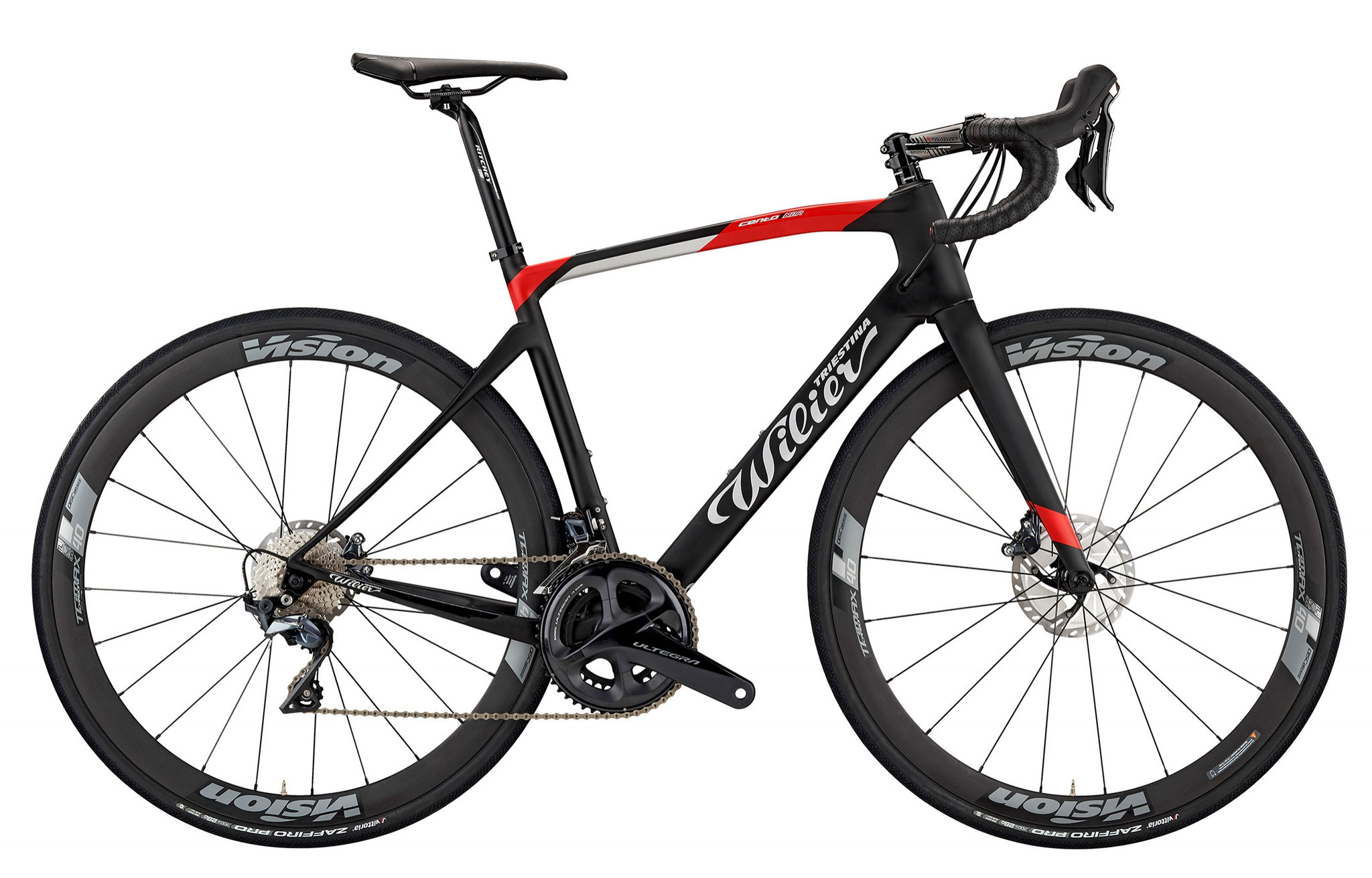 Wilier Cento1NDR BLACK / RED MATT