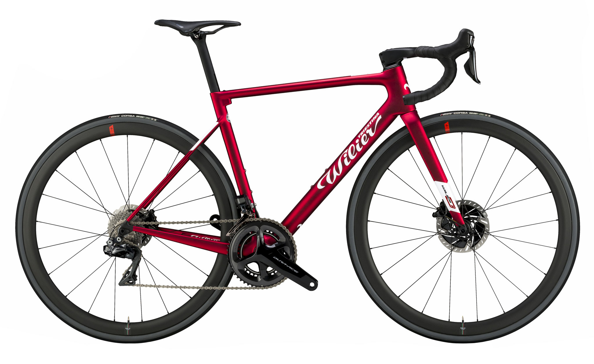 Wilier 0 SLR VELVET RED - MATT