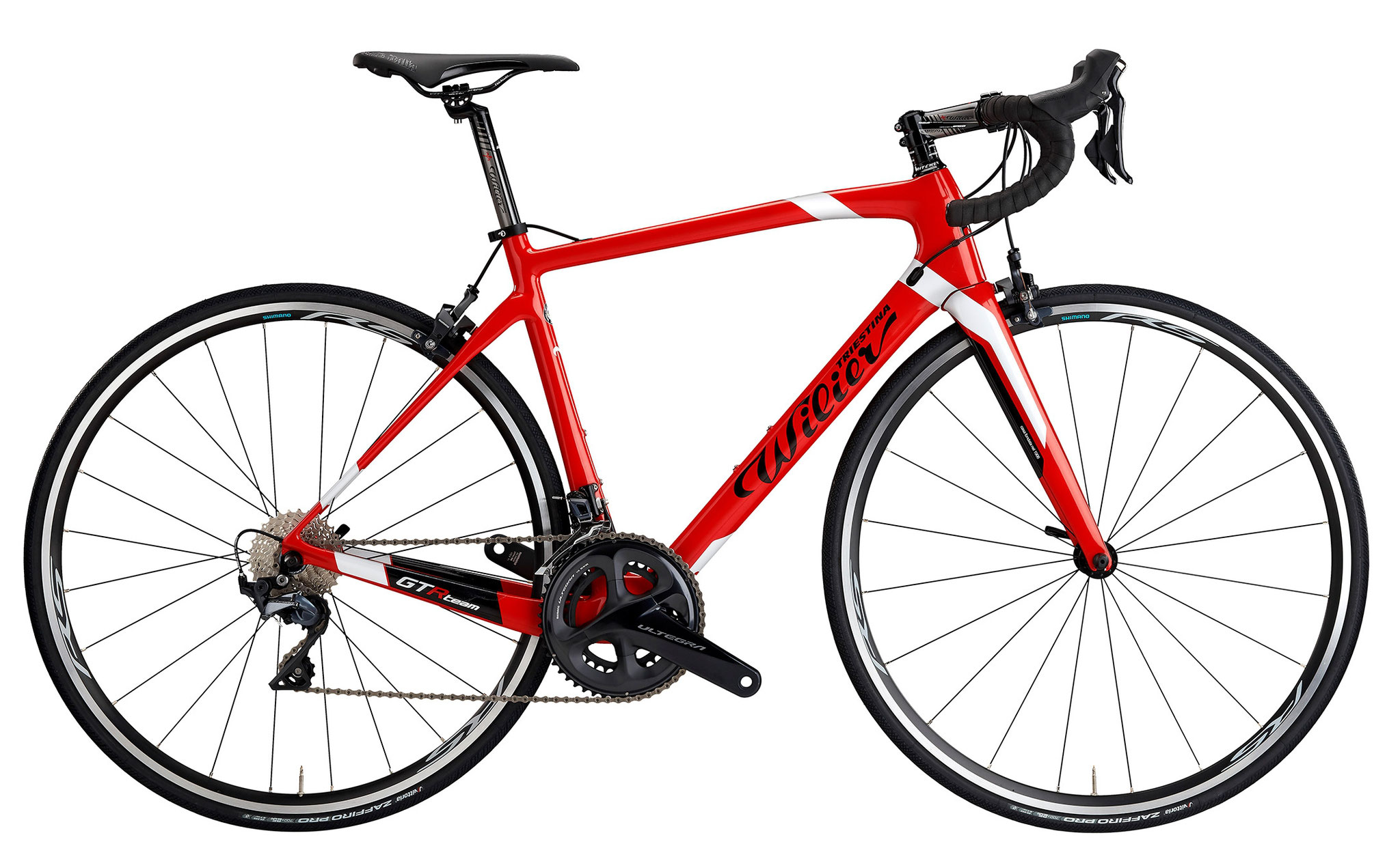 Wilier GTR Team RED / WHITE / BLACK GLOSSY