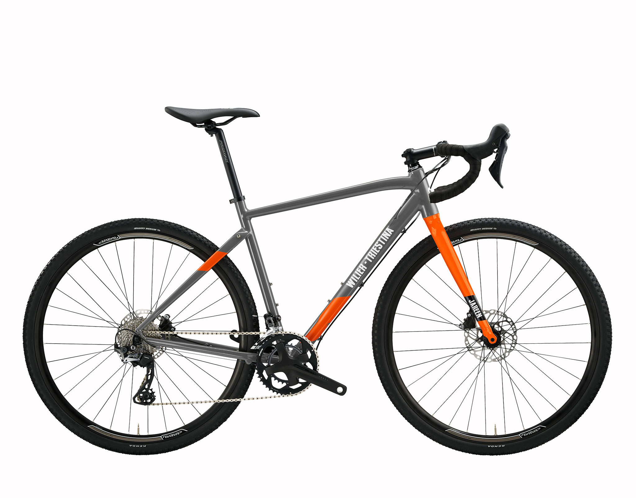 Wilier JAREEN GREY / ORANGE MATT