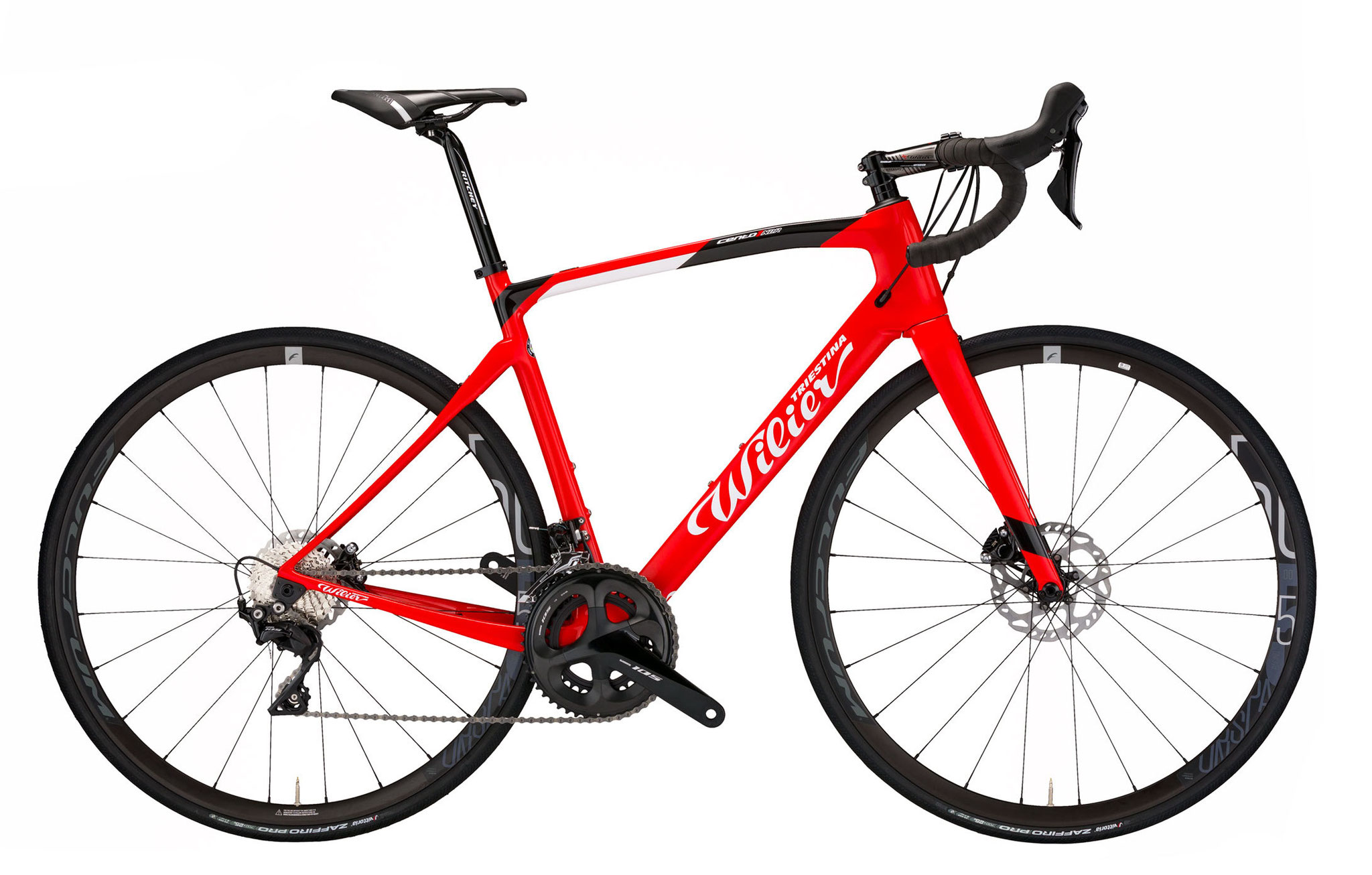 Wilier Cento1NDR RED / BLACK GLOSSY