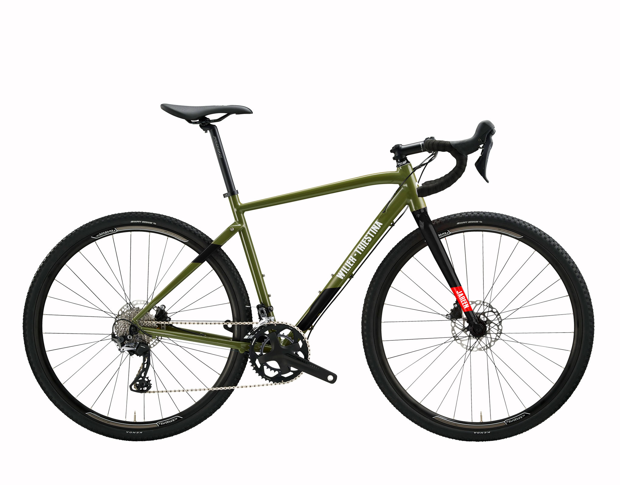 Wilier JAREEN GREEN / BLACK GLOSSY