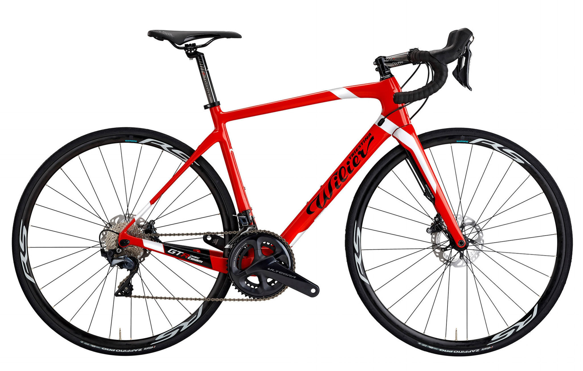 Wilier GTR Team Disc RED / WHITE / BLACK GLOSSY