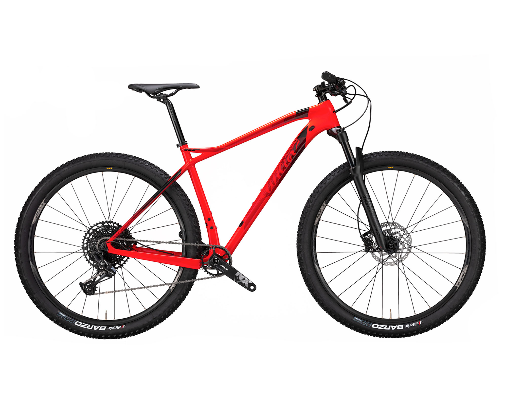 Wilier 101X RED BLACK; GLOSSY