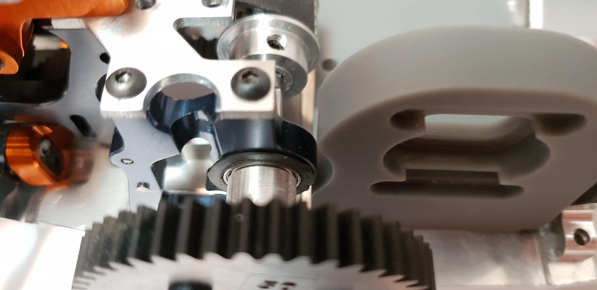 Designverifizierung mit Stereolithographie-Druck (SLA): Der Bauraum wird optimal genutzt und keine Störkontur beeinfluss das hergestellte Teil