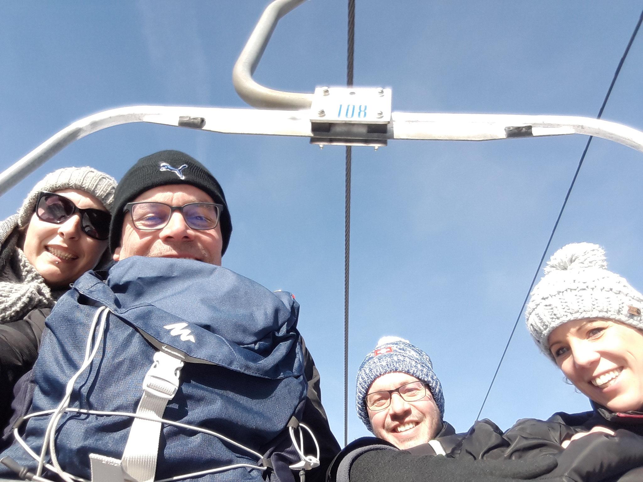 Mt-Carlo suivi spéciale en télésiège