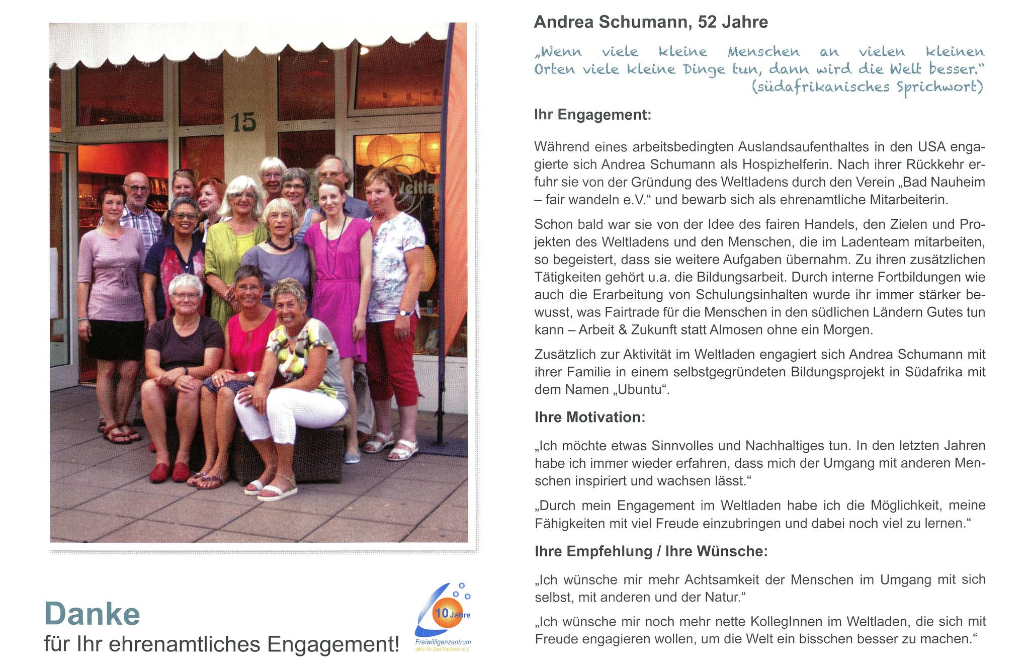 Im Januar vorgestellt - Ehrenamtskalender 2016 des Freiwilligenzentrums Bad Nauheim