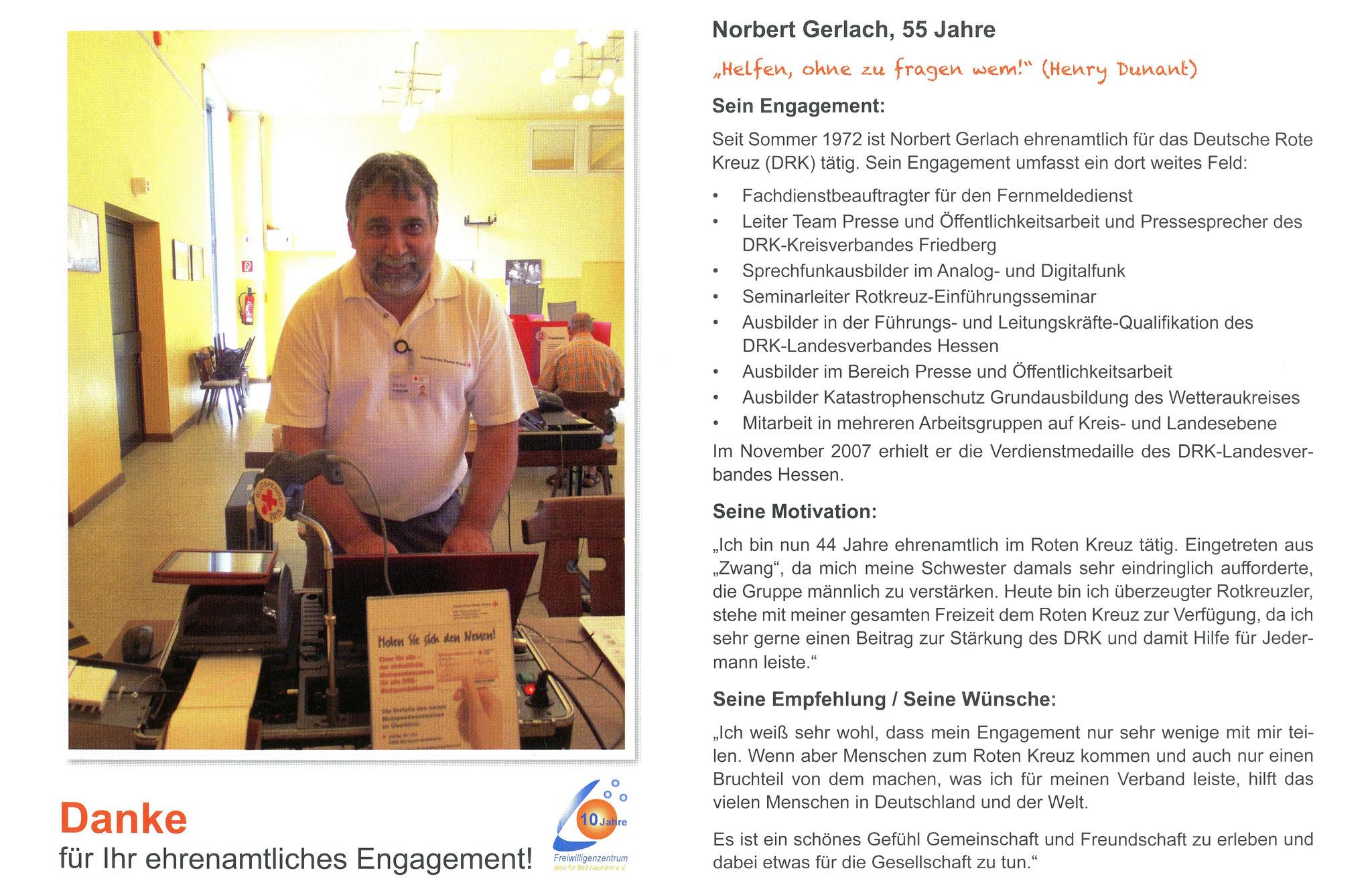 Im März vorgestellt - Ehrenamtskalender 2016 des Freiwilligenzentrums Bad Nauheim
