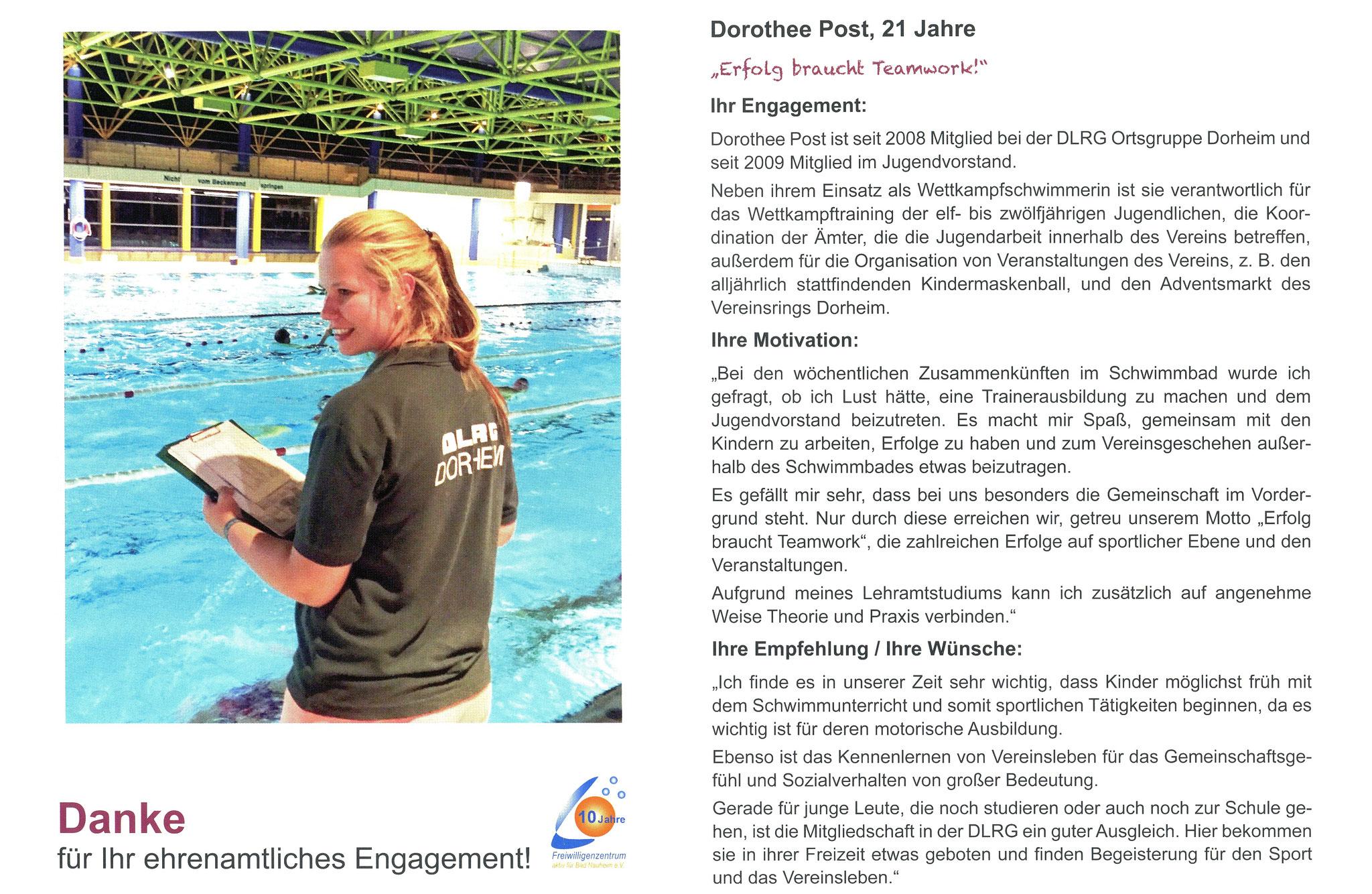 Im August vorgestellt - Ehrenamtskalender 2016 des Freiwilligenzentrums Bad Nauheim