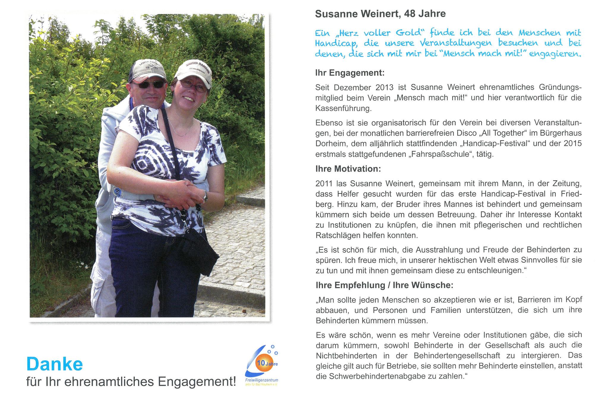 Im Juli vorgestellt - Ehrenamtskalender 2016 des Freiwilligenzentrums Bad Nauheim