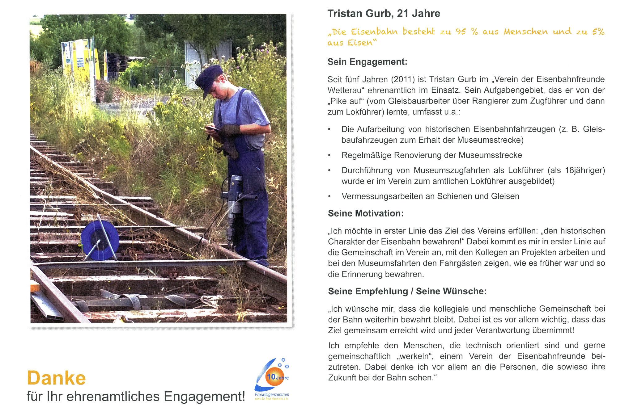 Im September vorgestellt - Ehrenamtskalender 2016 des Freiwilligenzentrums Bad Nauheim