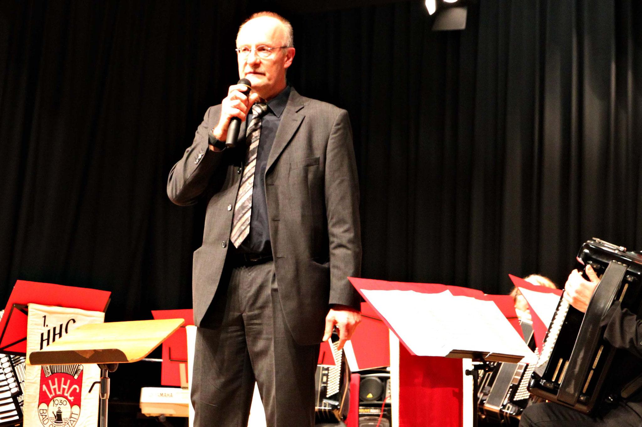 Peter Hauke begrüßte im Namen des VCV-Vorstands die über 200 Besucherinnen und Besucher.