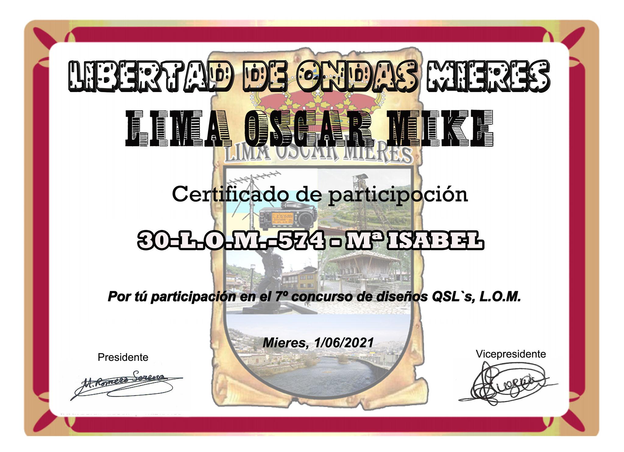 30-L.O.M.-574 ISA - CORDOBA