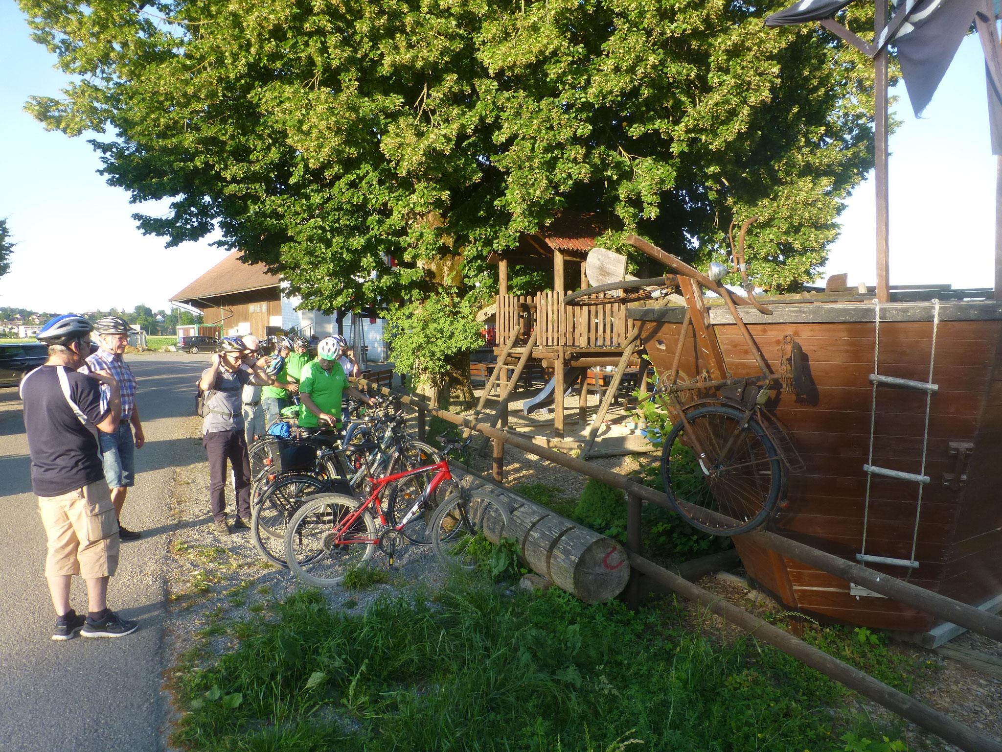 Ankunft in Au/Kradolf