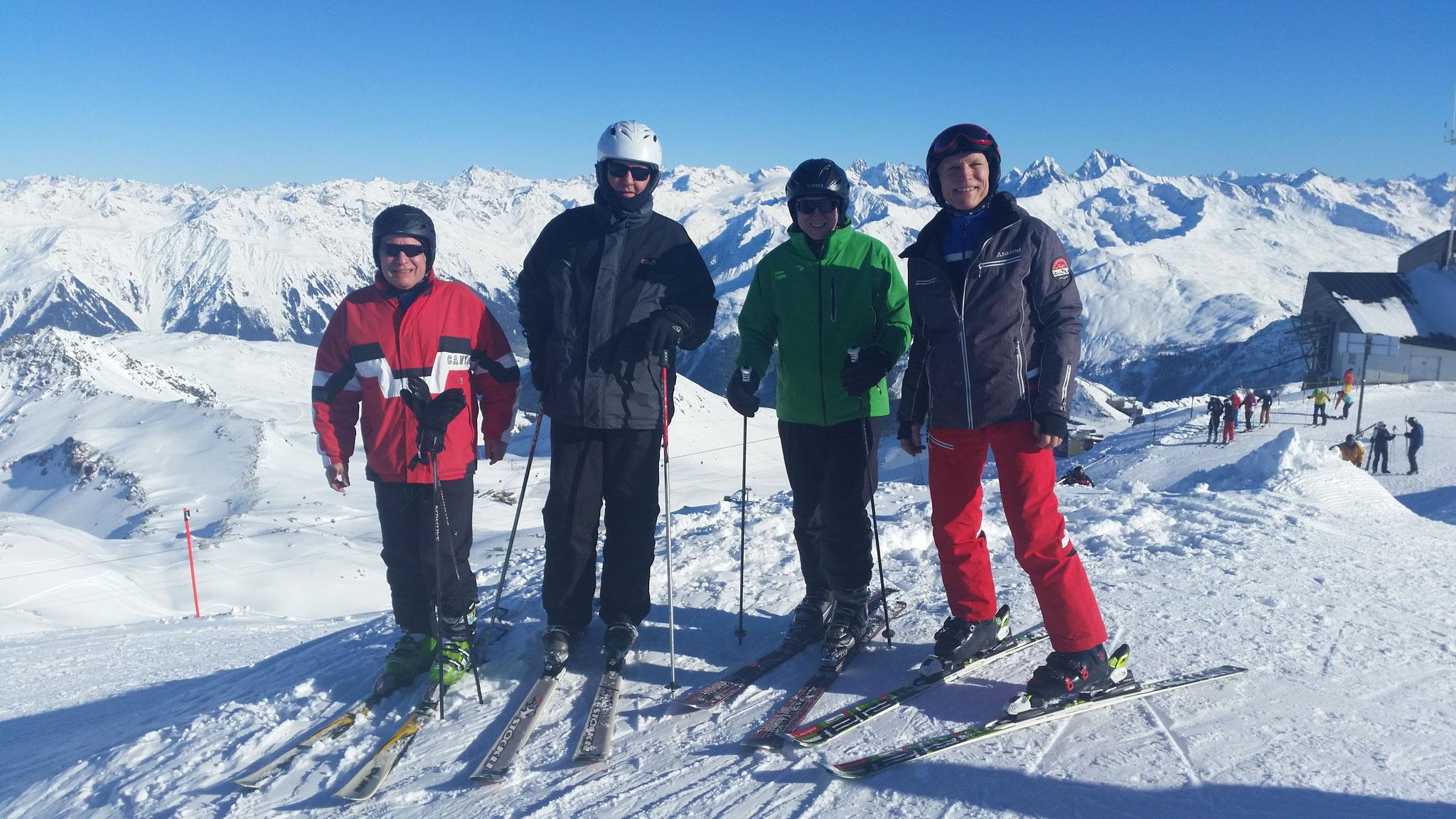 Auch Skifahren gehört zum Angebot