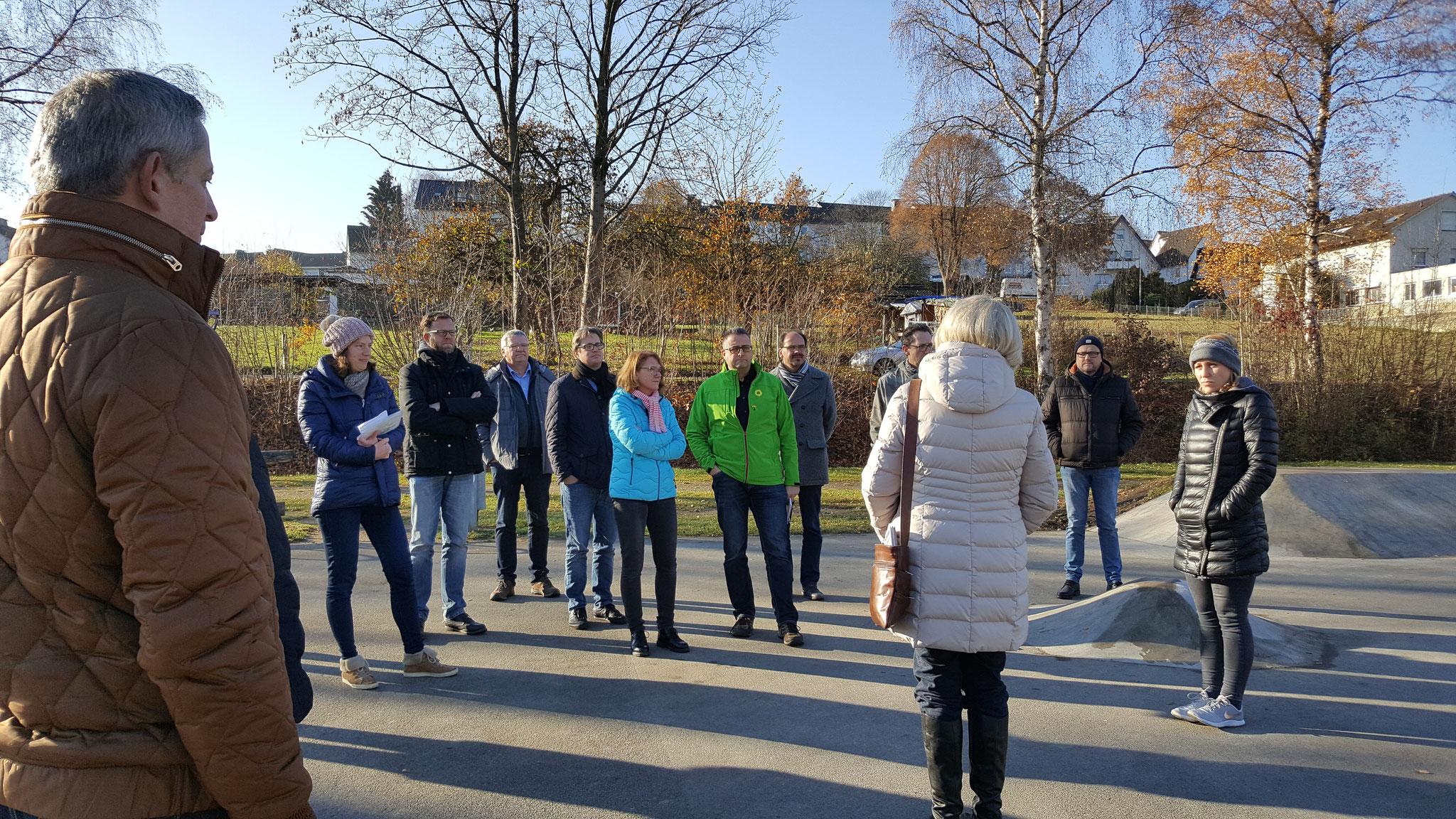 Elke Bertling berichtet über die Umsetzung des Projektes