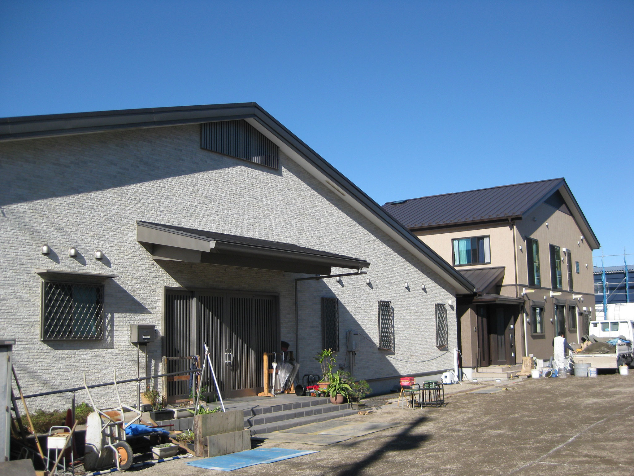 教会+住宅(木造2階建て)