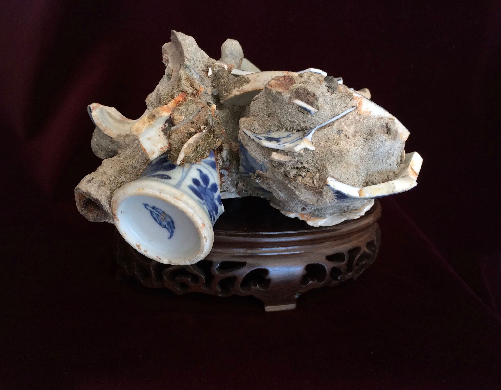 Porcelaines chinoises, épave de Vung Tau (XVIIe)