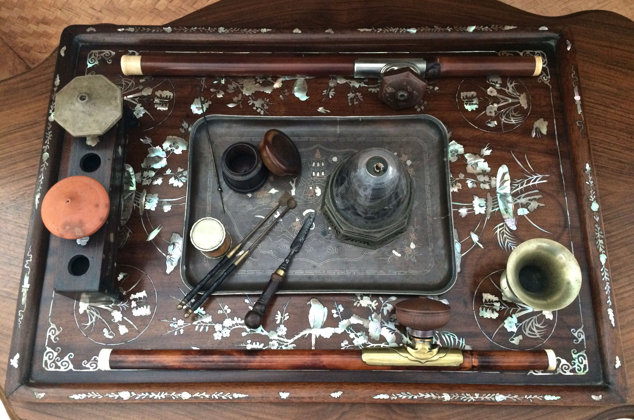Complete smoker's tray (–> Accessoires)