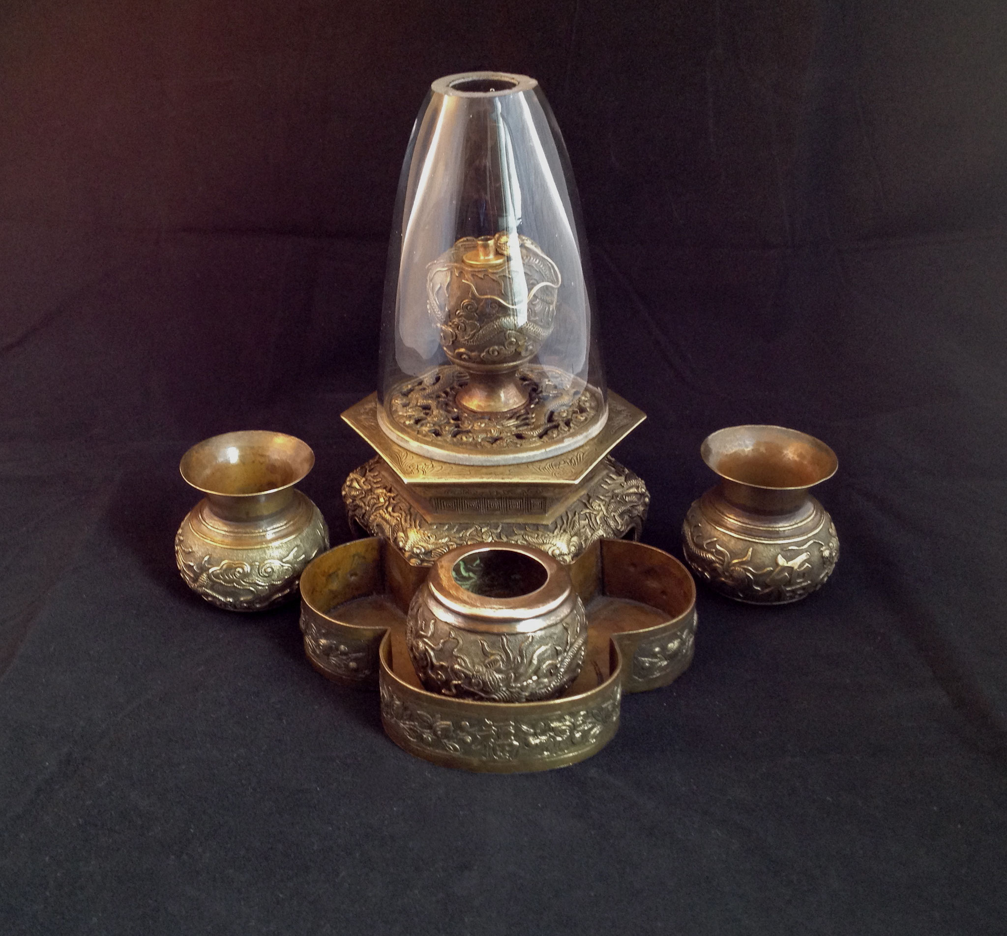 Opium smoker's set  (–> Accessoires)