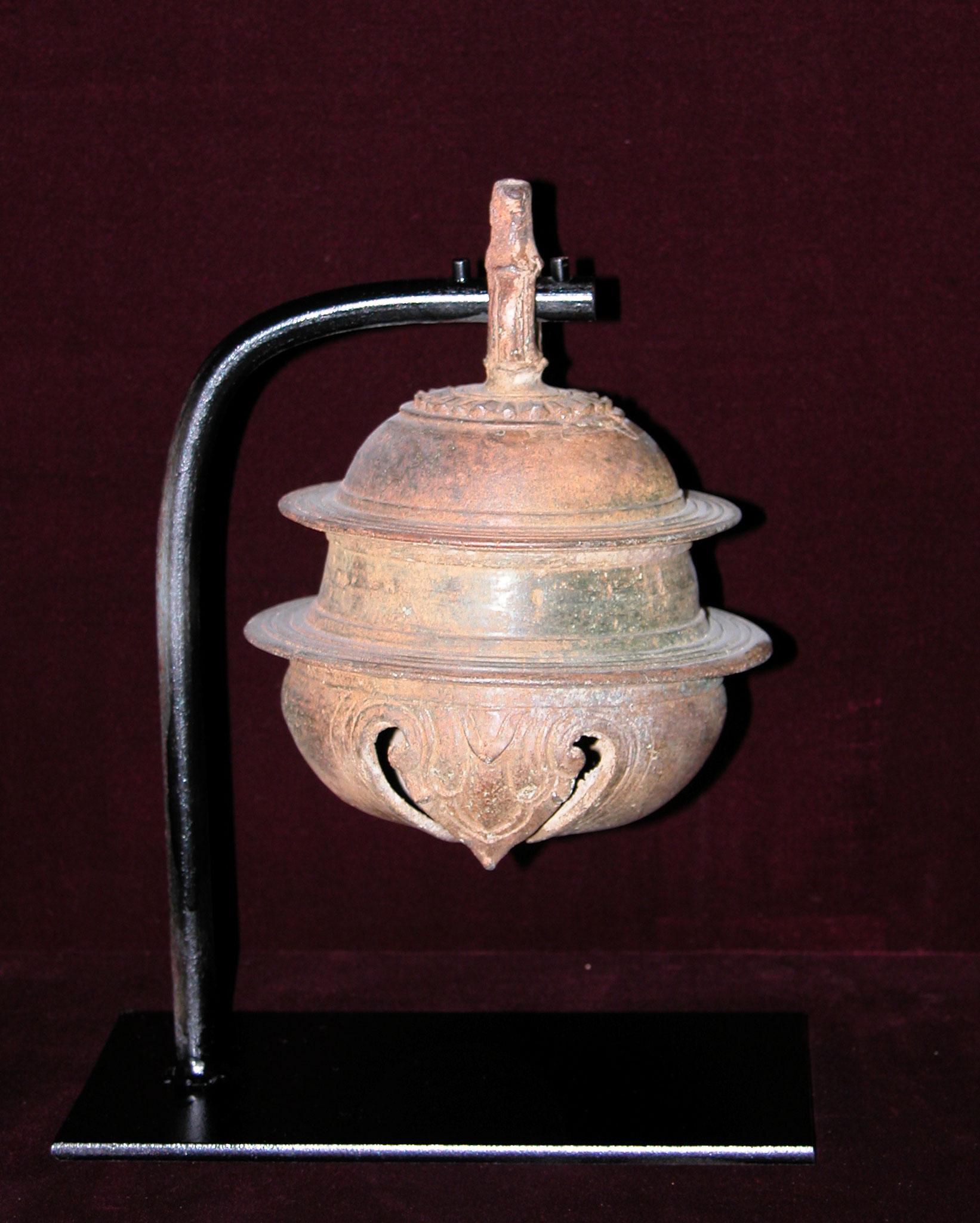 Grelot d'éléphant, Empire Khmer (XI-XIIIe)