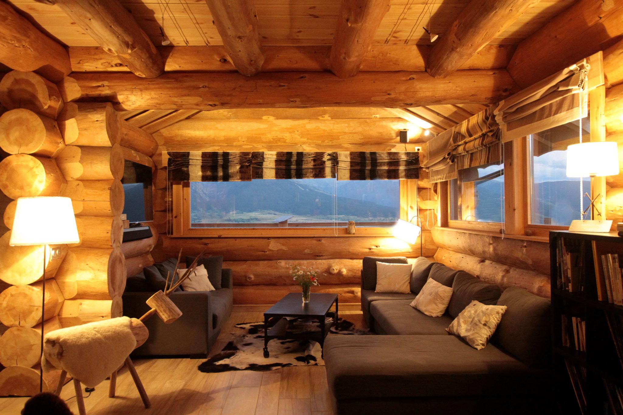 intérieur chaleureux