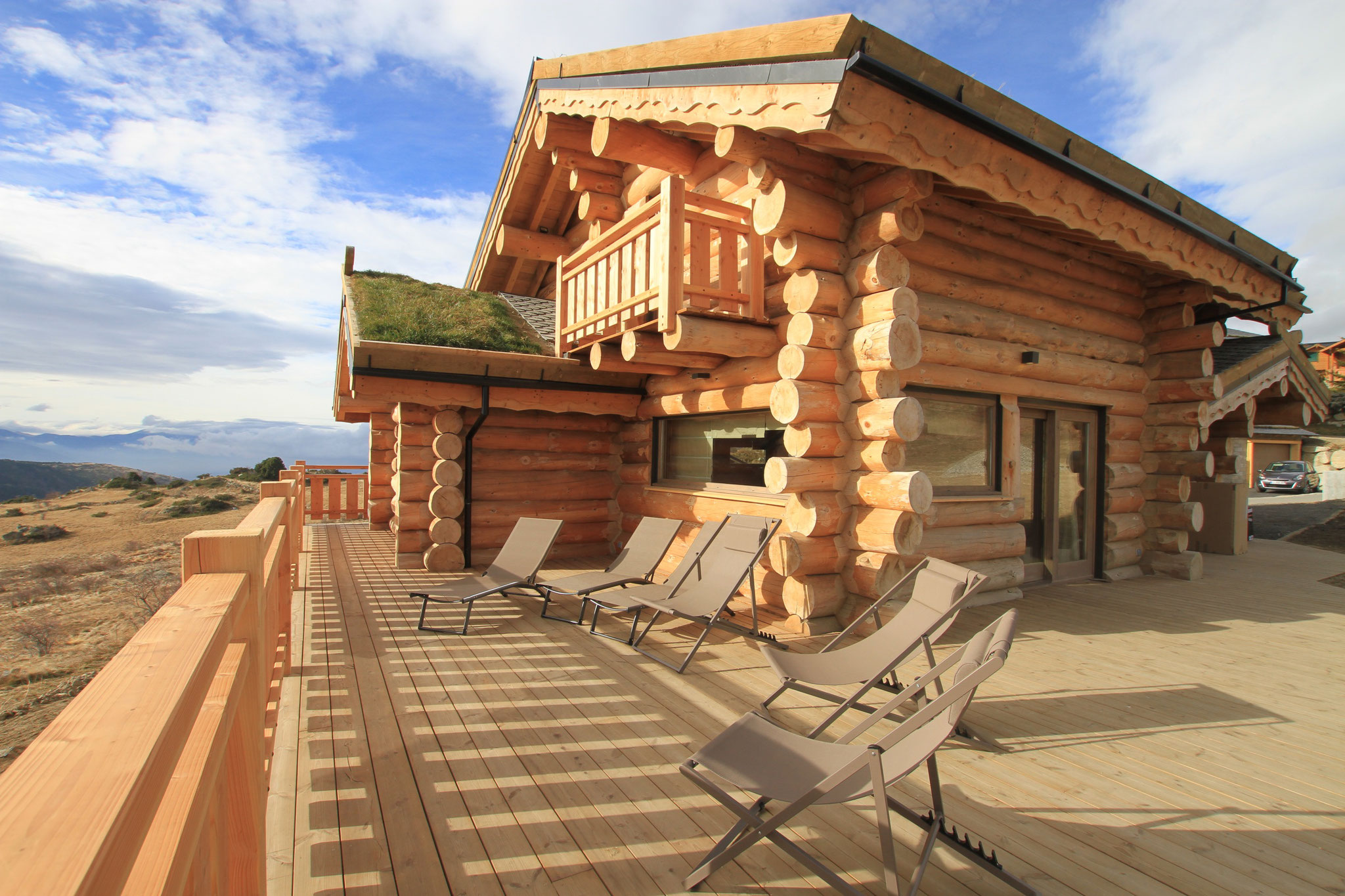 un toit végétal pour vos vacances à la montagne