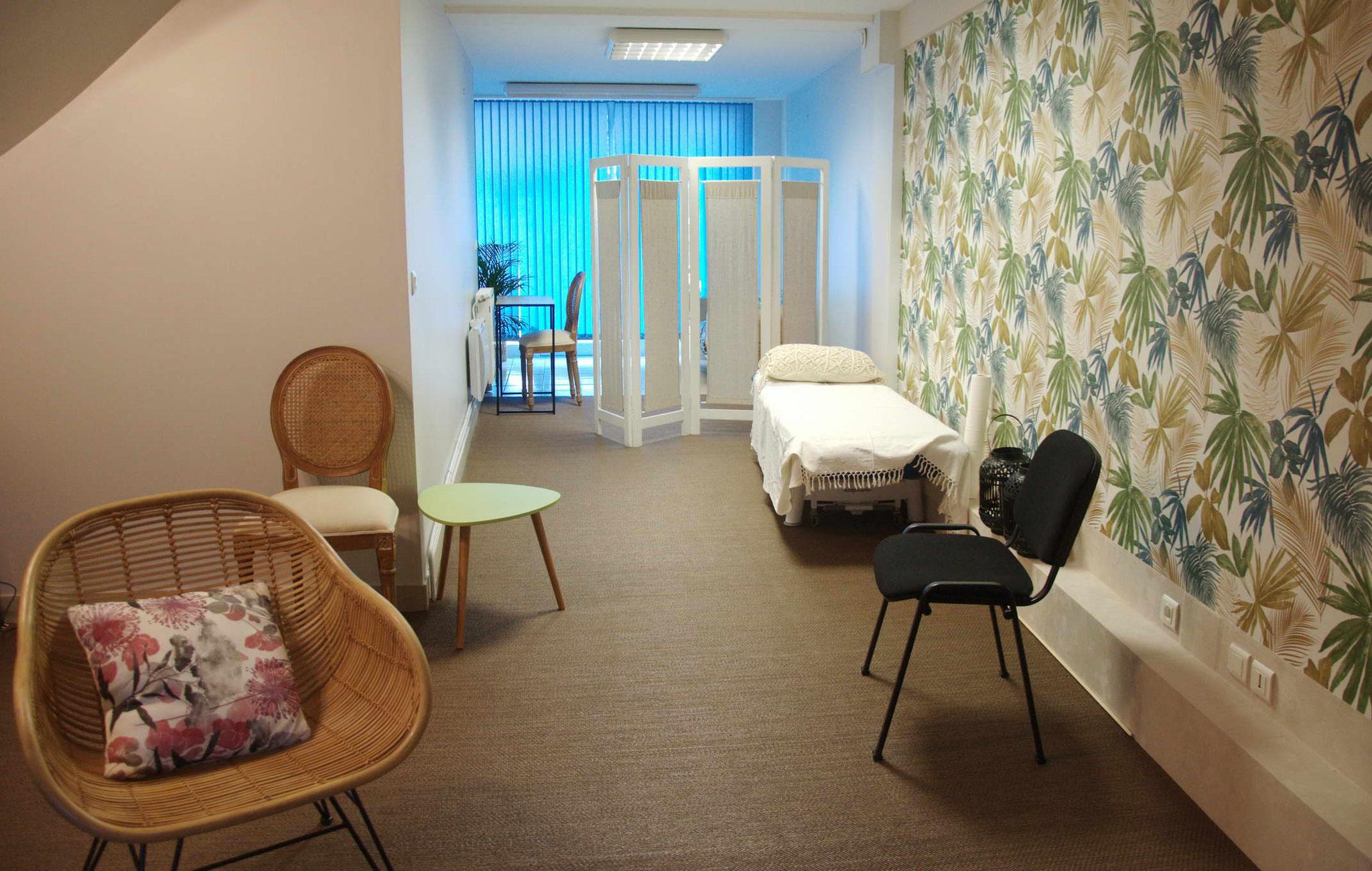 La salle de soin