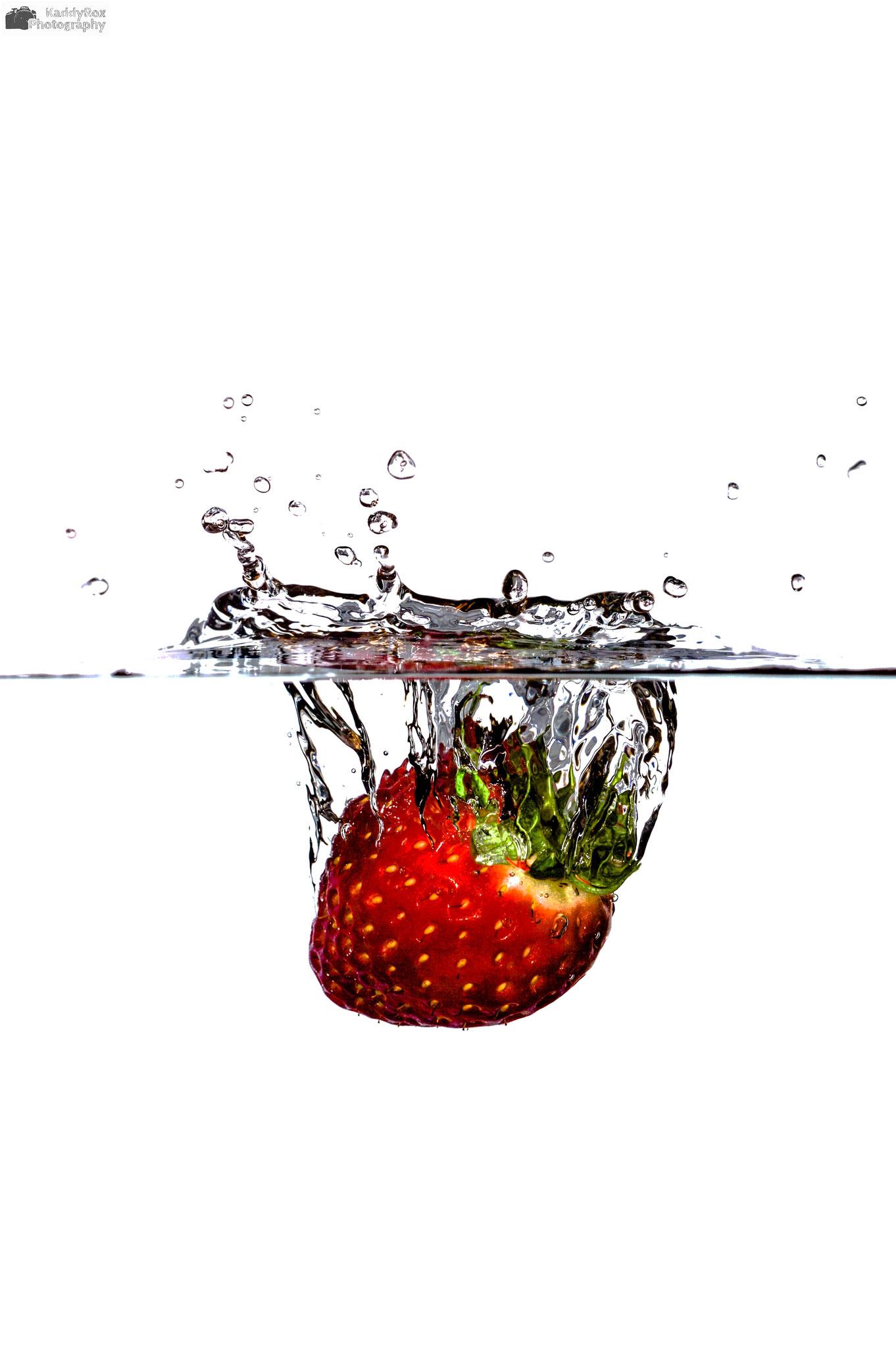 Highspeed Erdbeere