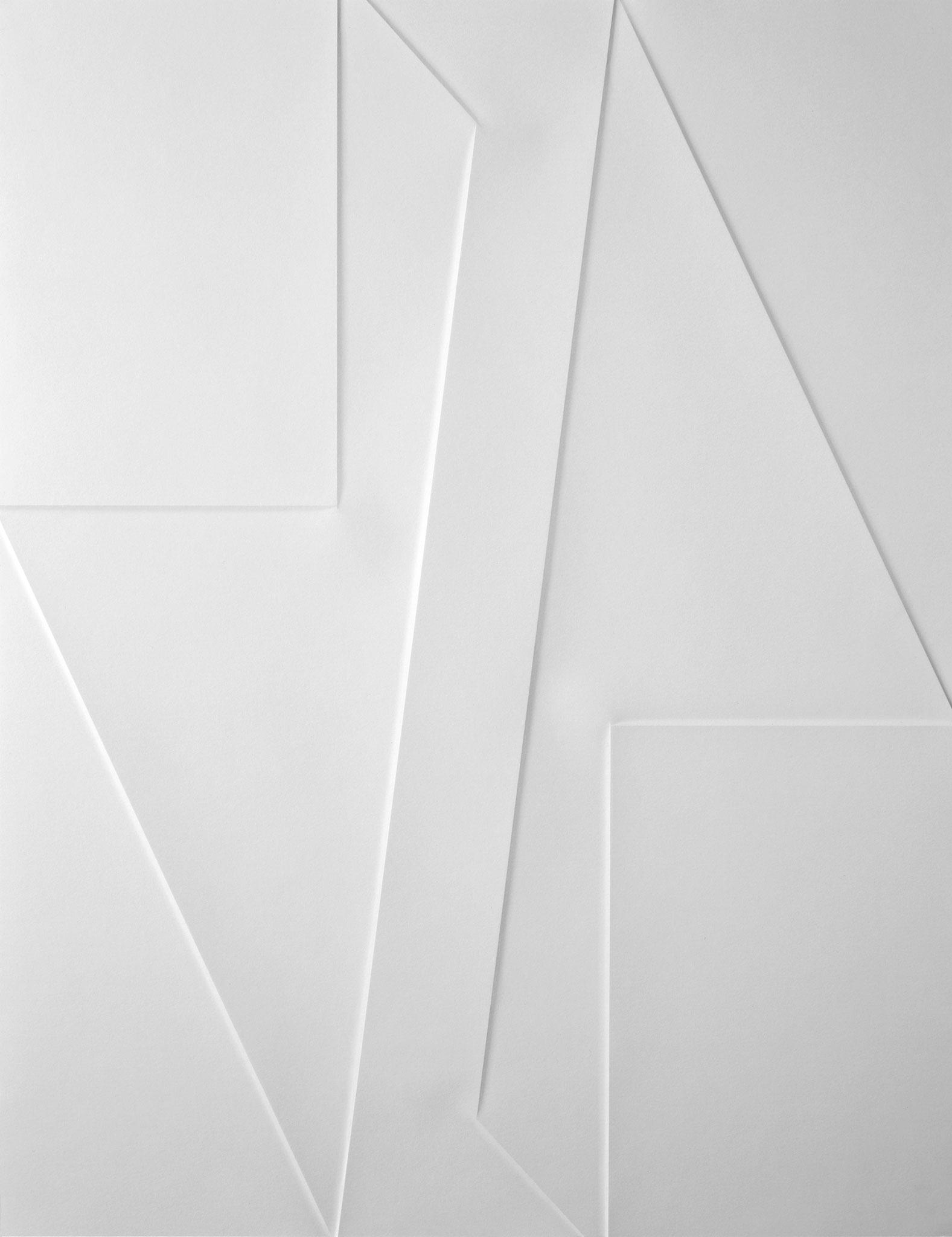 lines P 53, 2020, Papier gefalzt, 77 x 59,7 cm