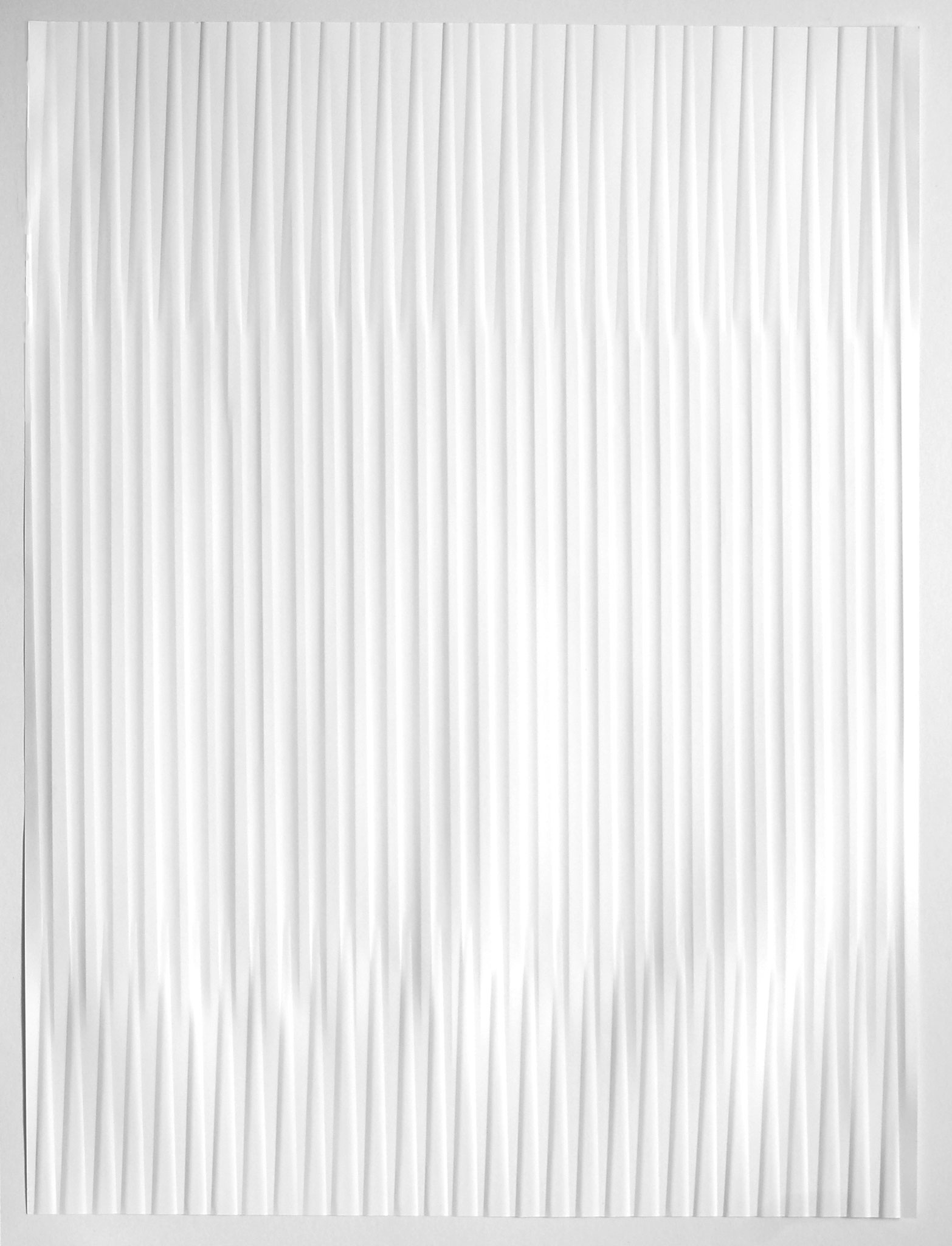 lines P40, 2019, Papier gefalzt, 59,5 x 77,0 cm