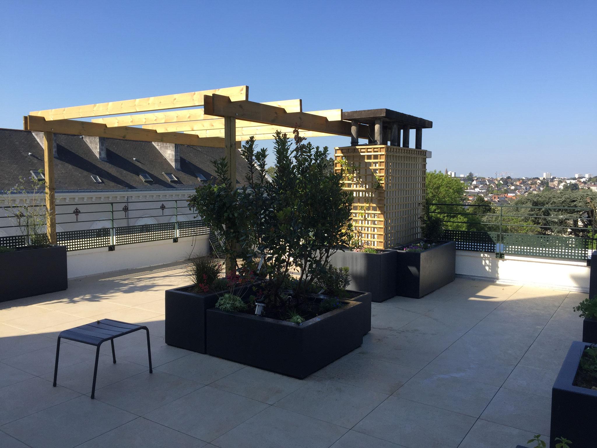 Aménagement terrasse à Nantes