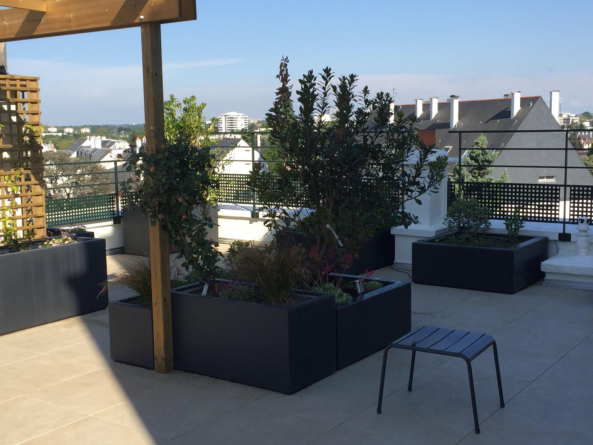 Bacs en terrasse JARDIVILLE Nantes