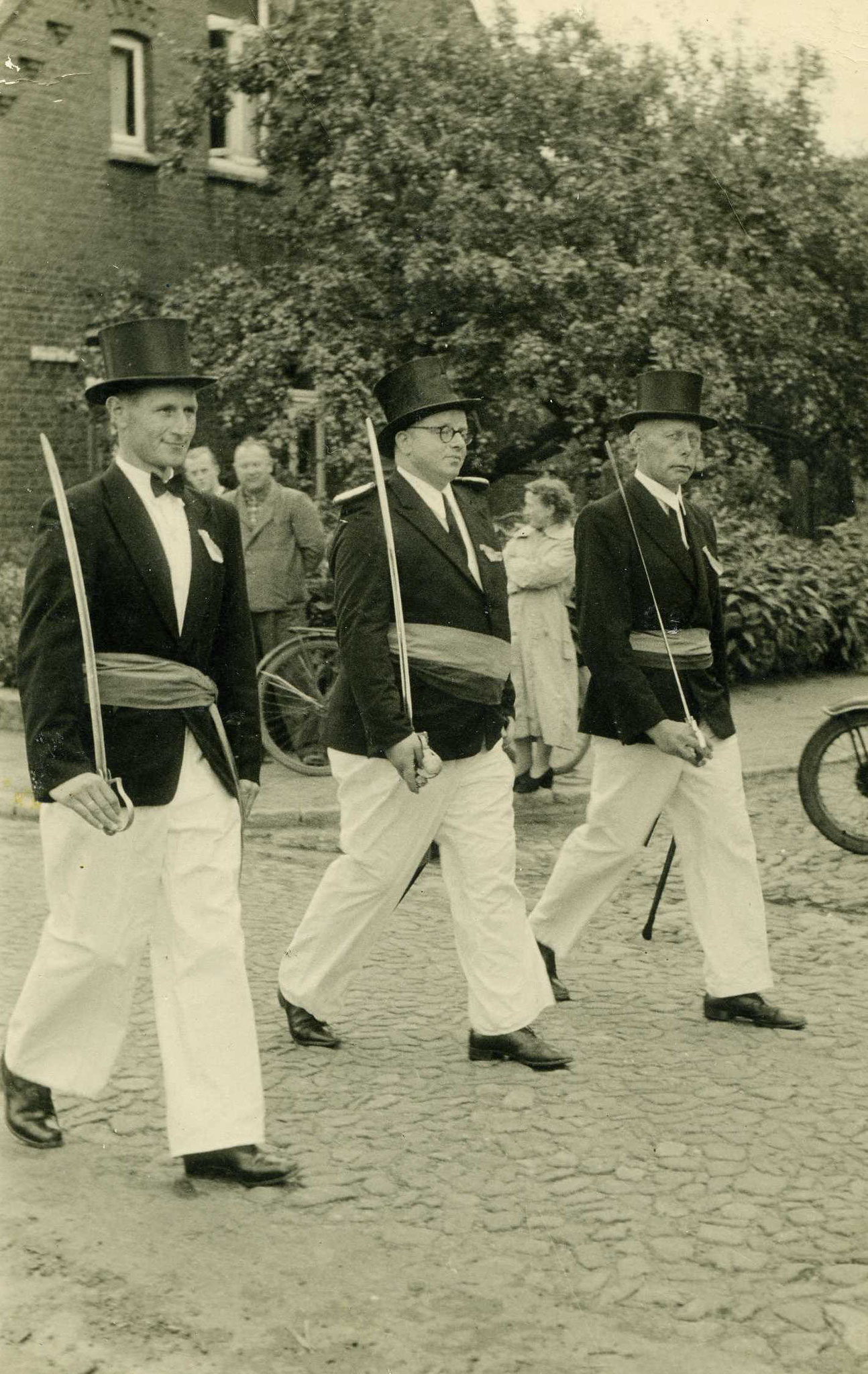 Josef Varwig, Norbert Bergmann und Josef Dultmeyer
