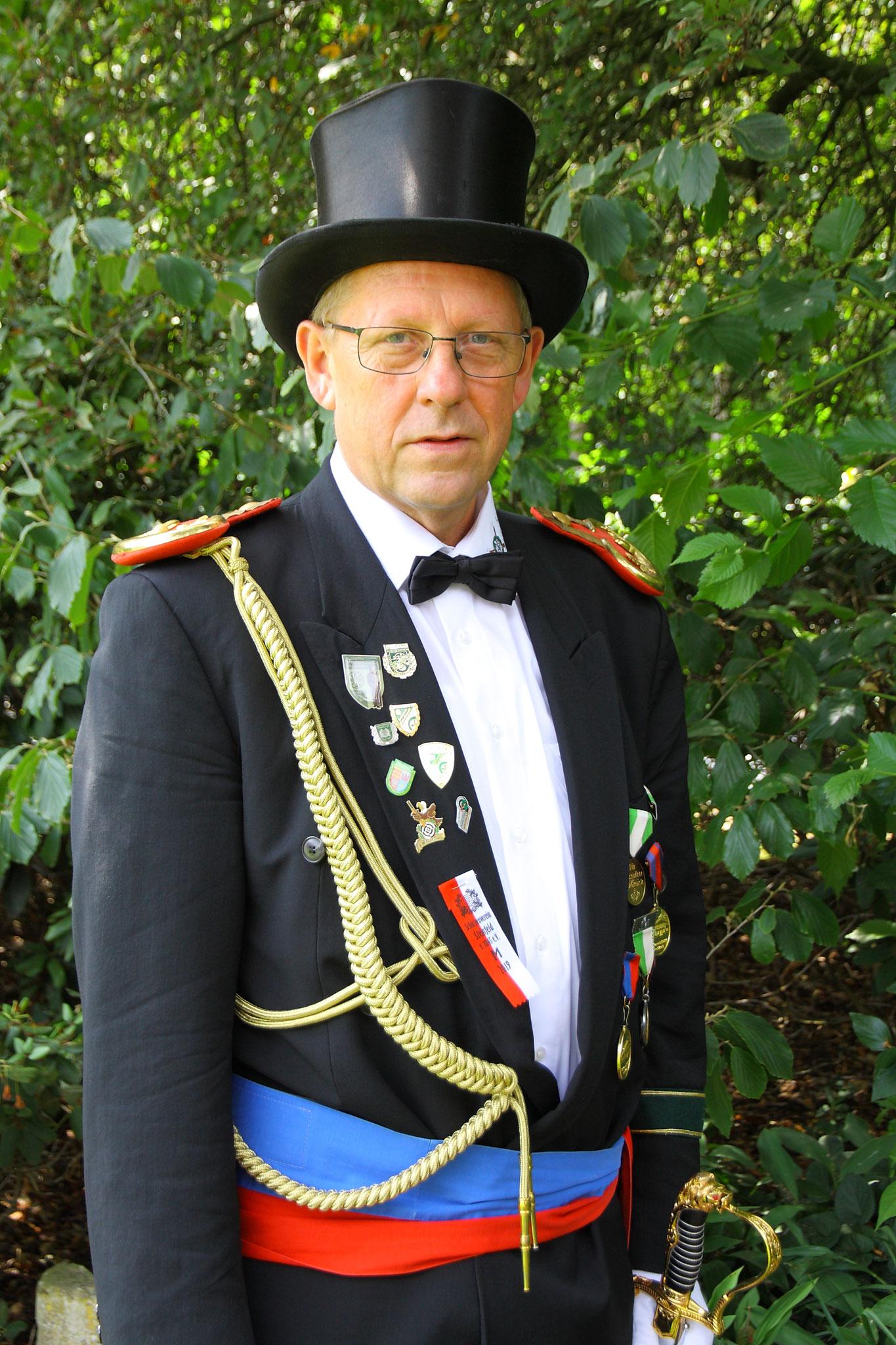 Franz-Josef Kreinest - Bataillonskommandeur des II. Bataillon