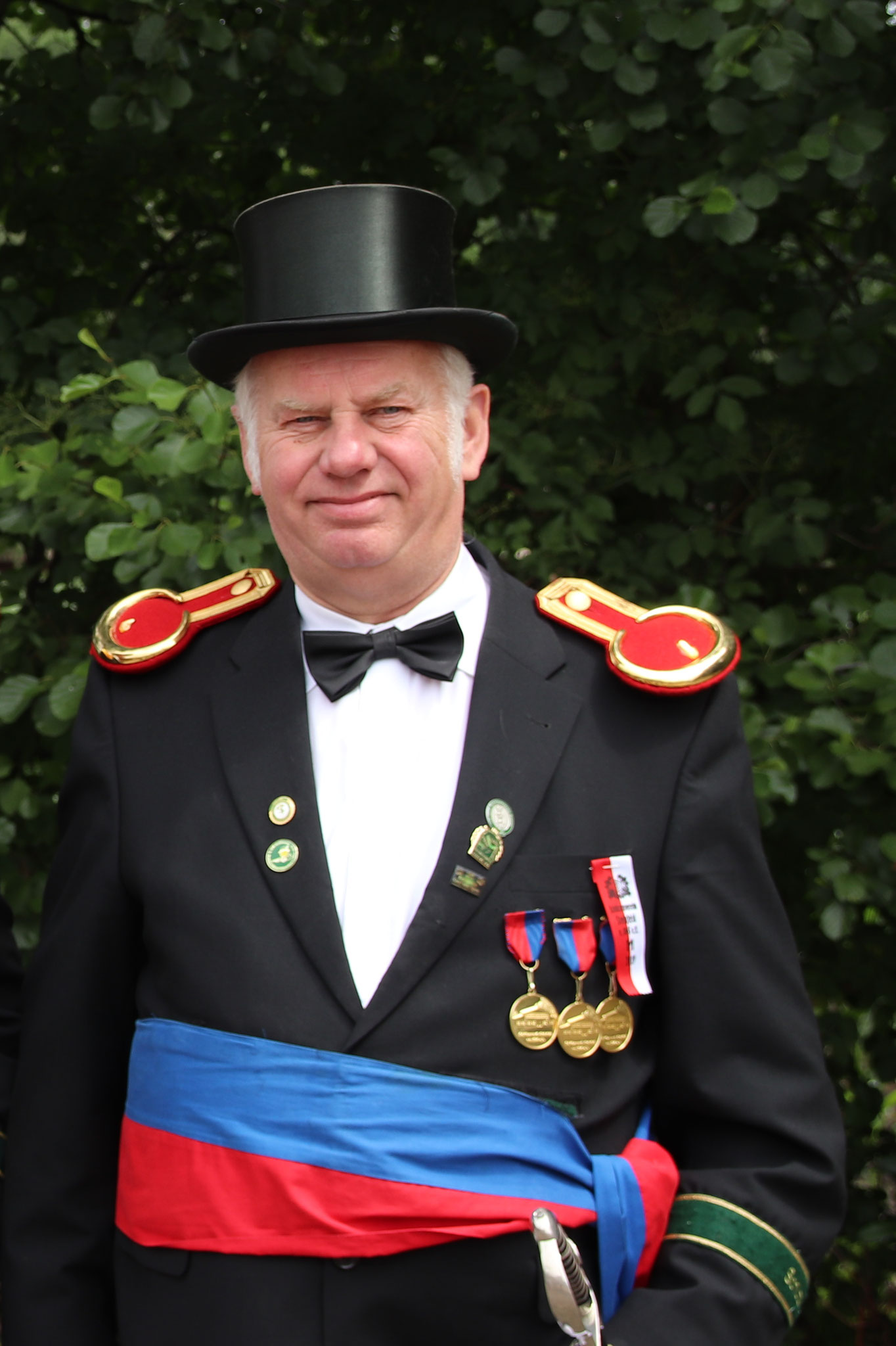 Stellv. Kompaniechef Alfons Höne