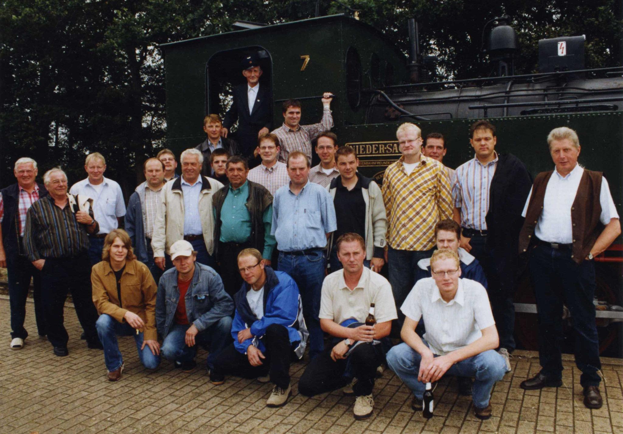 Kompanieausflug zum Korn- und Hansemarkt in Haselünne im Jahr 2004