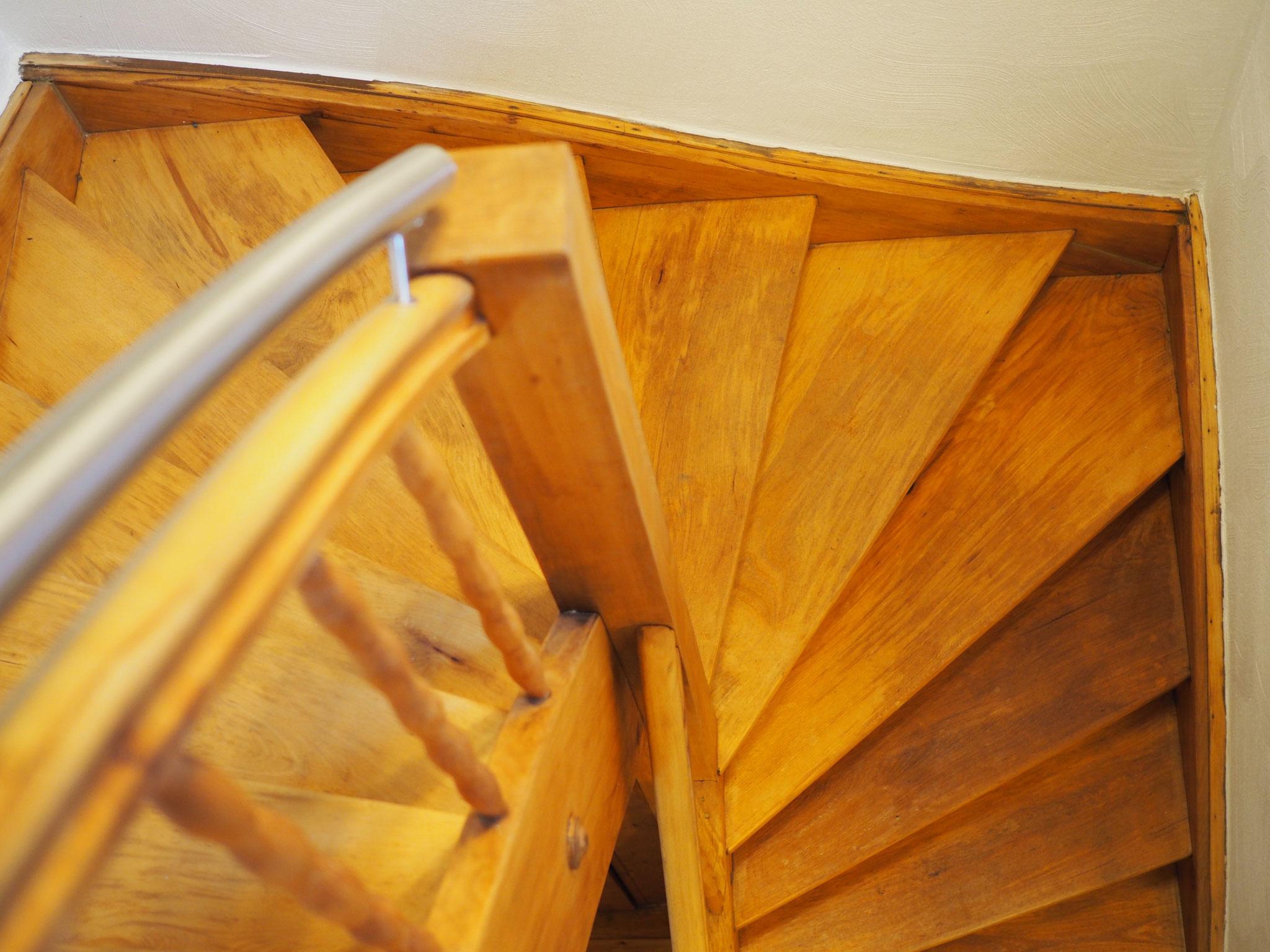 Treppenhaus zum Schlafzimmer