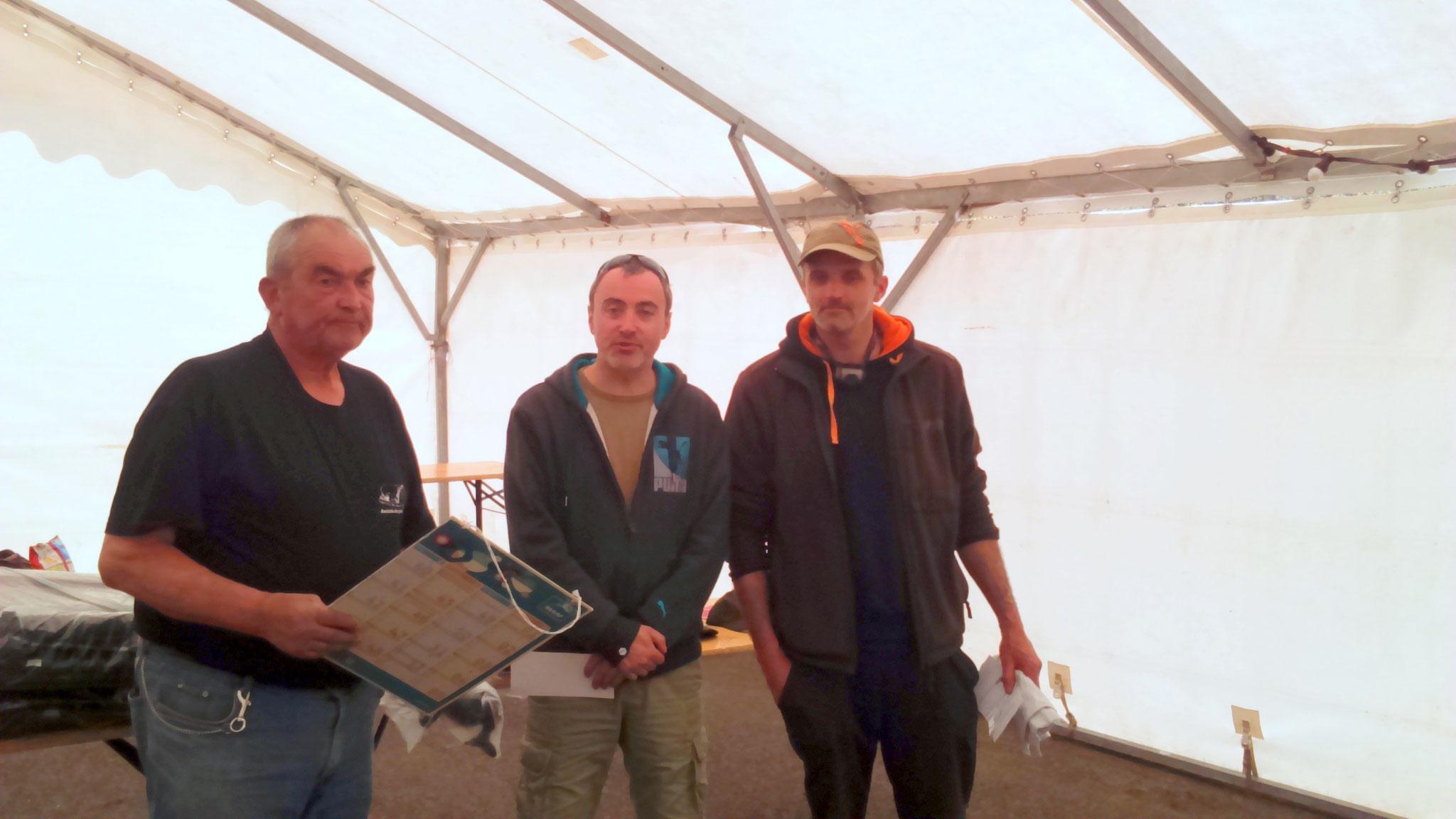 6 ème avec 2 prises et 21,820 kg de poisson, Camus Rochelemagne
