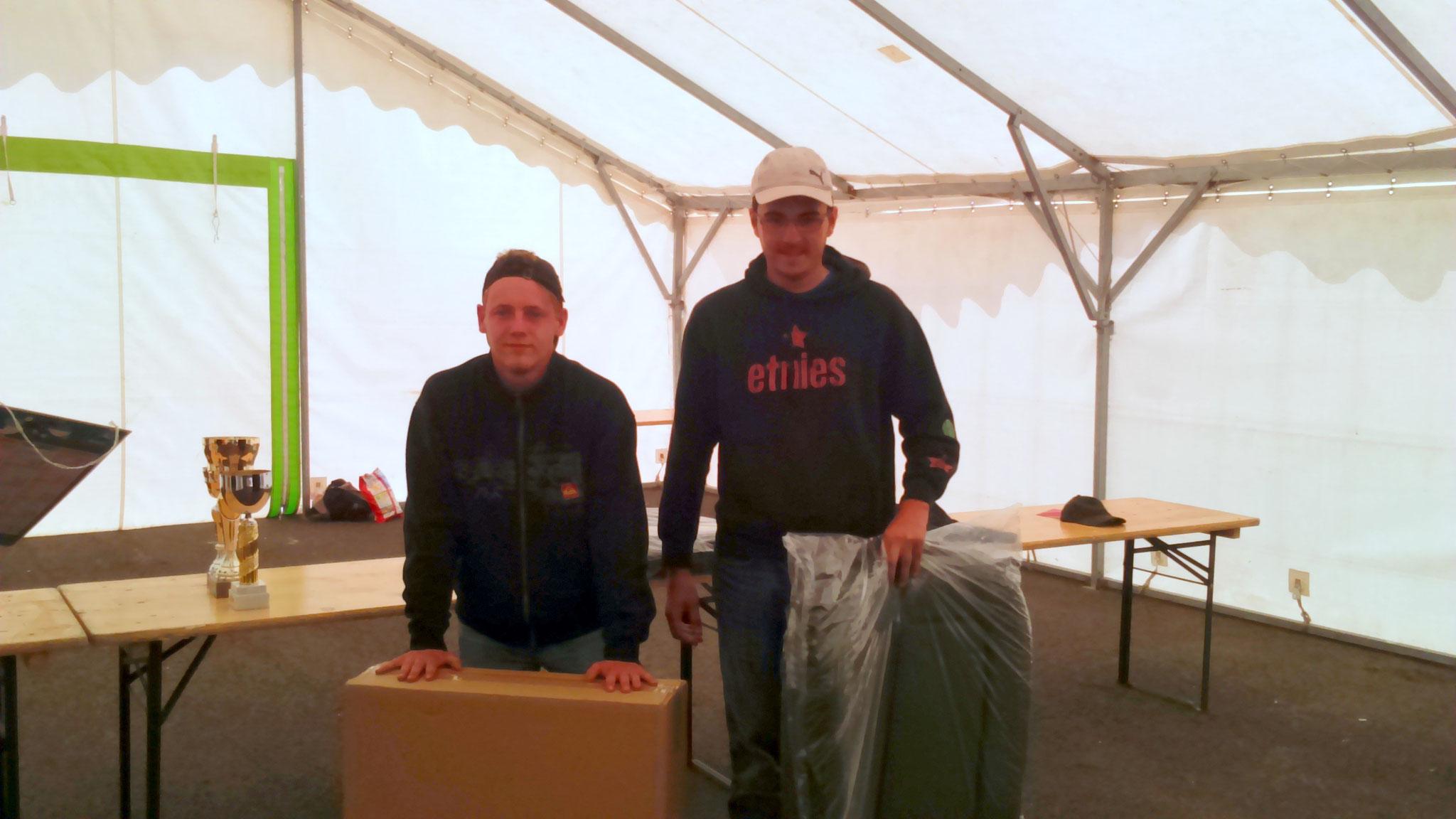 11 ème avec 1 prise et 6,620 kg de poisson, Pegny  Guyot