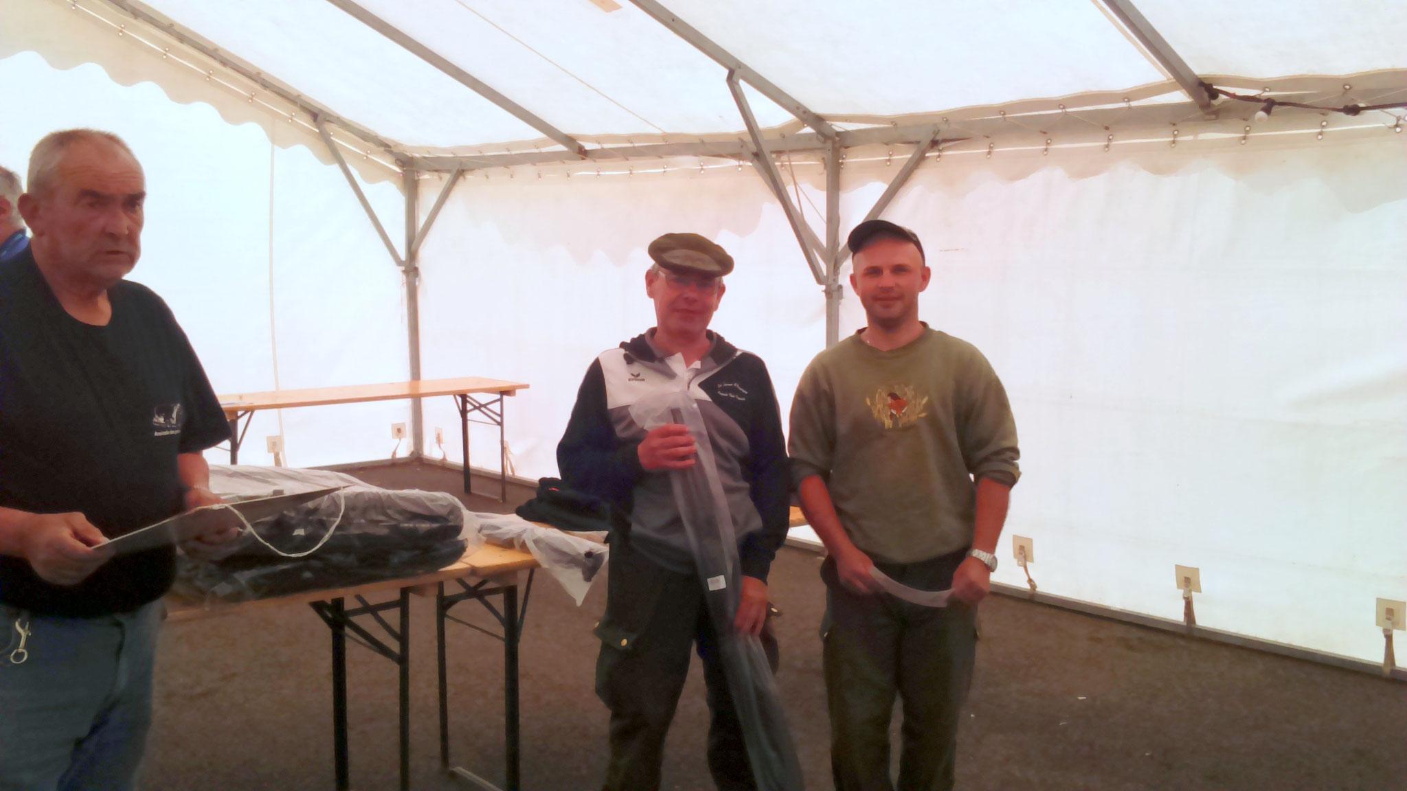 7 ème avec 8 prises et 20,640 kg de poisson, Blanchard Père et Fils