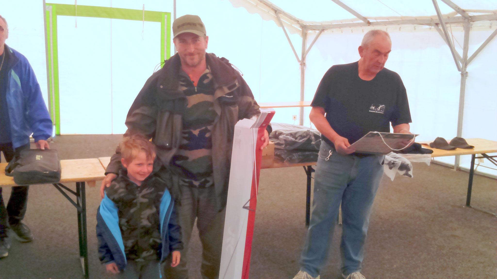 5 ème avec 4 prises et 26,060 kg de poisson, Bastide Boulet