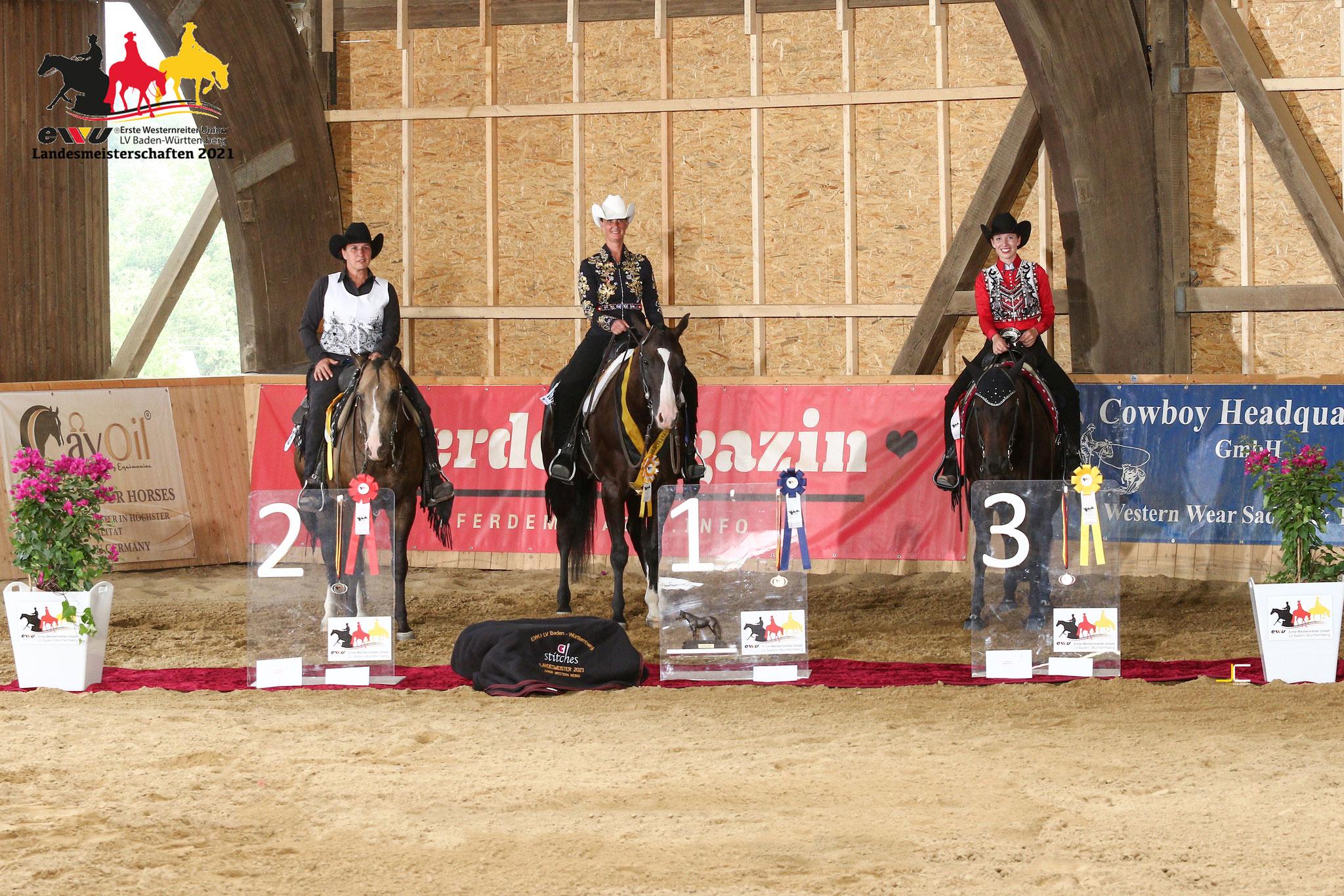 "Bronzemedaille ""Junior Western Riding"""