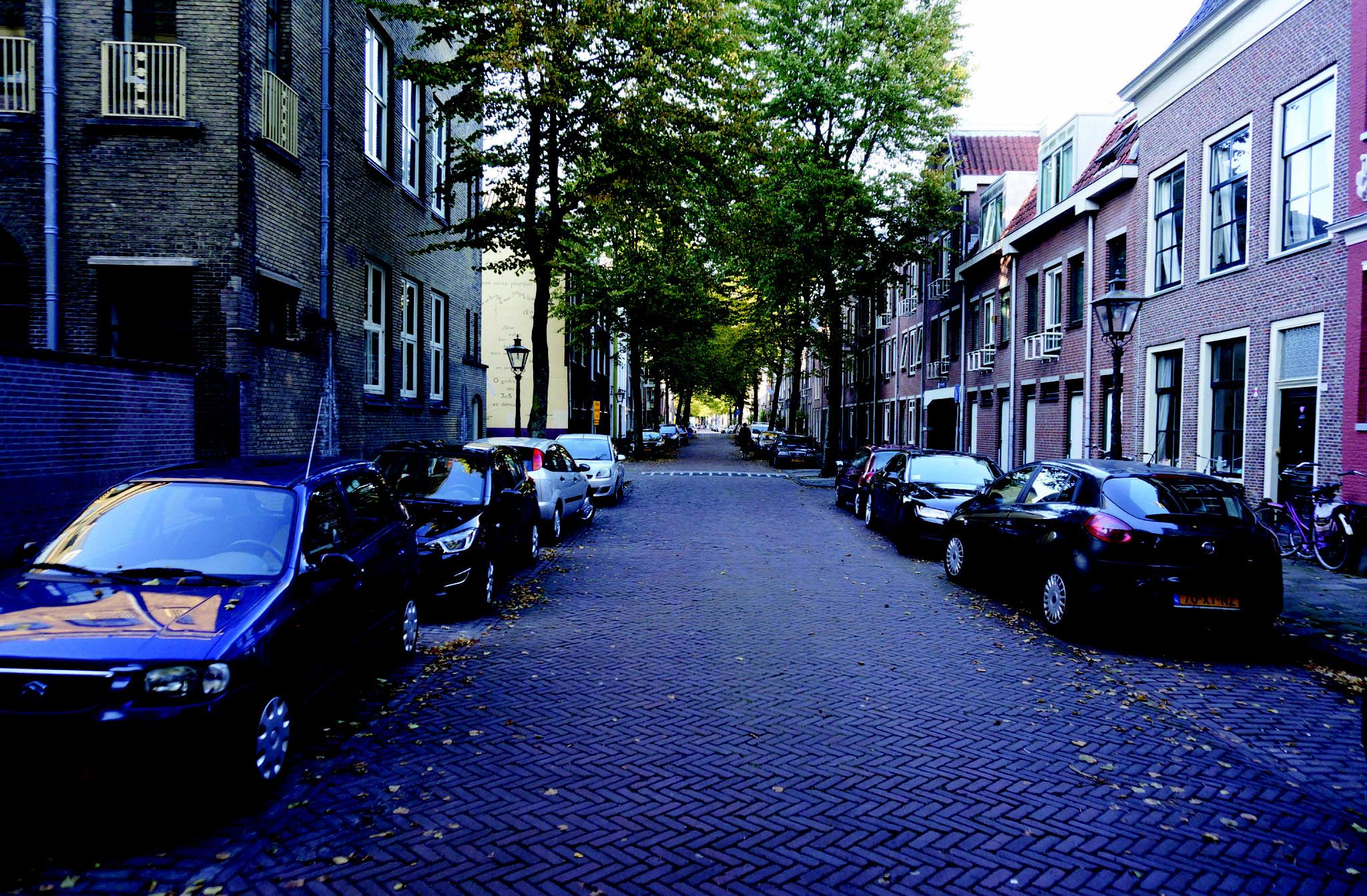 Middelstegracht huidig straatbeeld