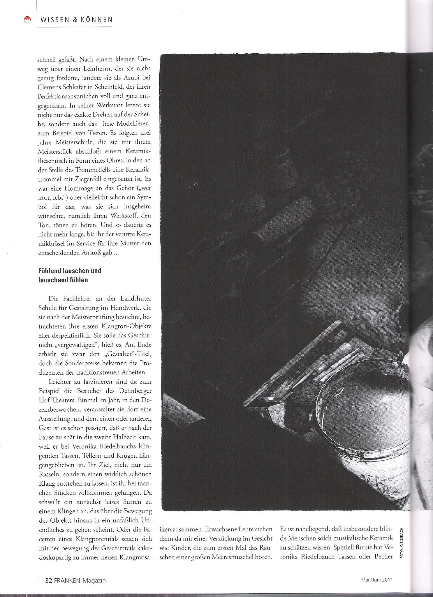 Klangmosaik - Meeresmuschel - FRANKEN-Magazin