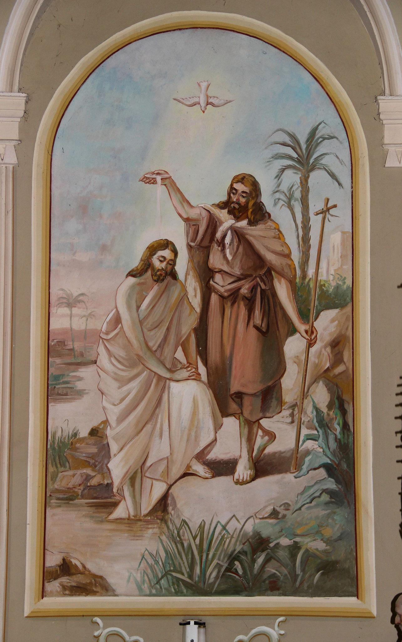 Die Taufe Jesu im Jordan
