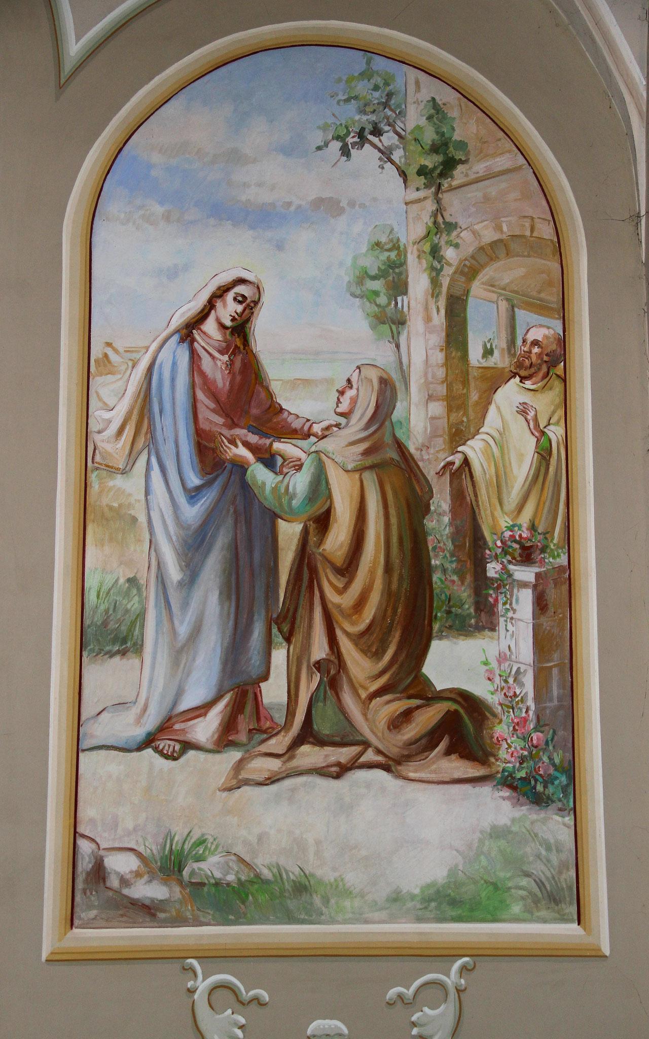 Begegnung Maria mit Elisabeth