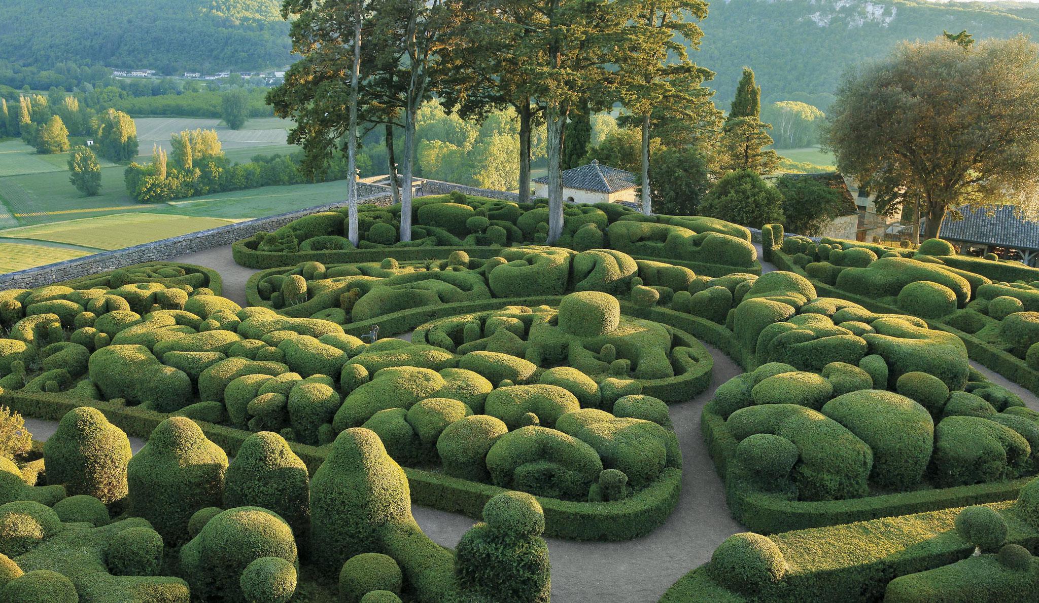 Les jardins de Marqueyssac, belvédère de la Dordogne